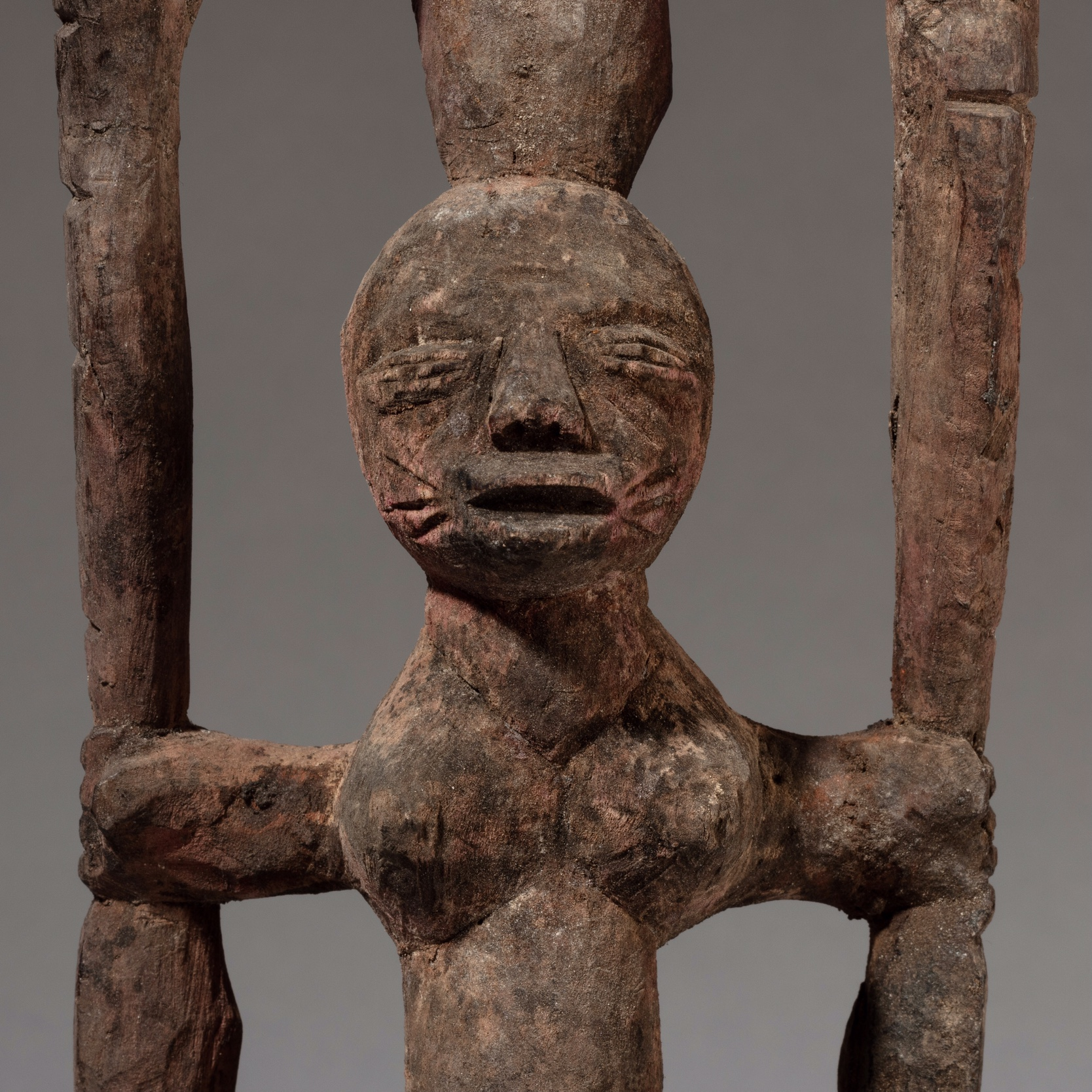AN UNUSUAL SHANGO FROM THE YORUBA TRIBE OF NIGERIA ( No 3315 )