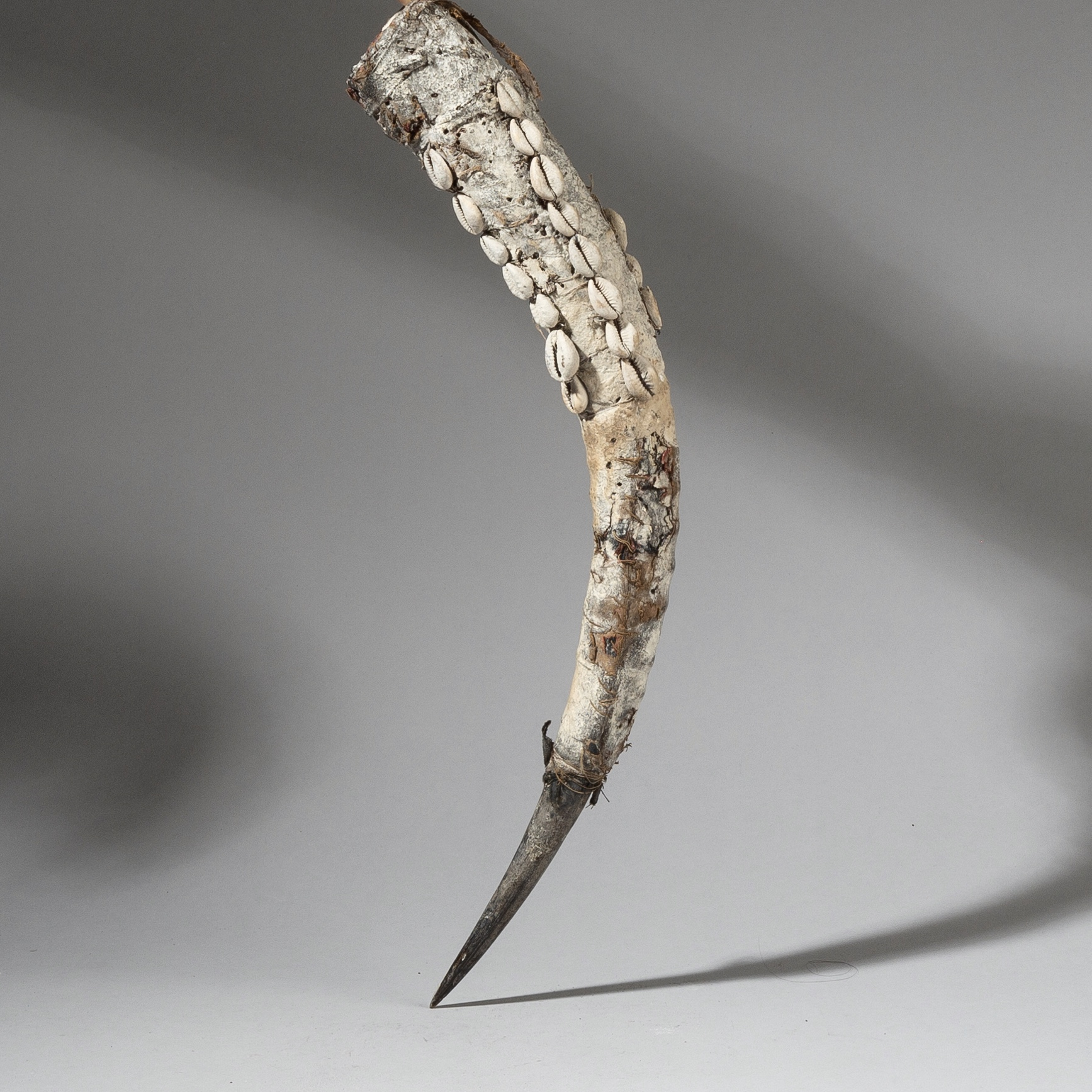 A LONG ANTELOPE HORN POWER OBJECT, EWE OF TOGO(  No 2775 )