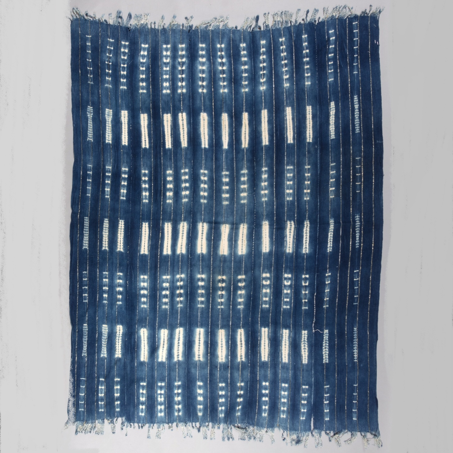 A MASTERFUL MOSSI CLOTH, BURKINA FASO ( No 3892 )