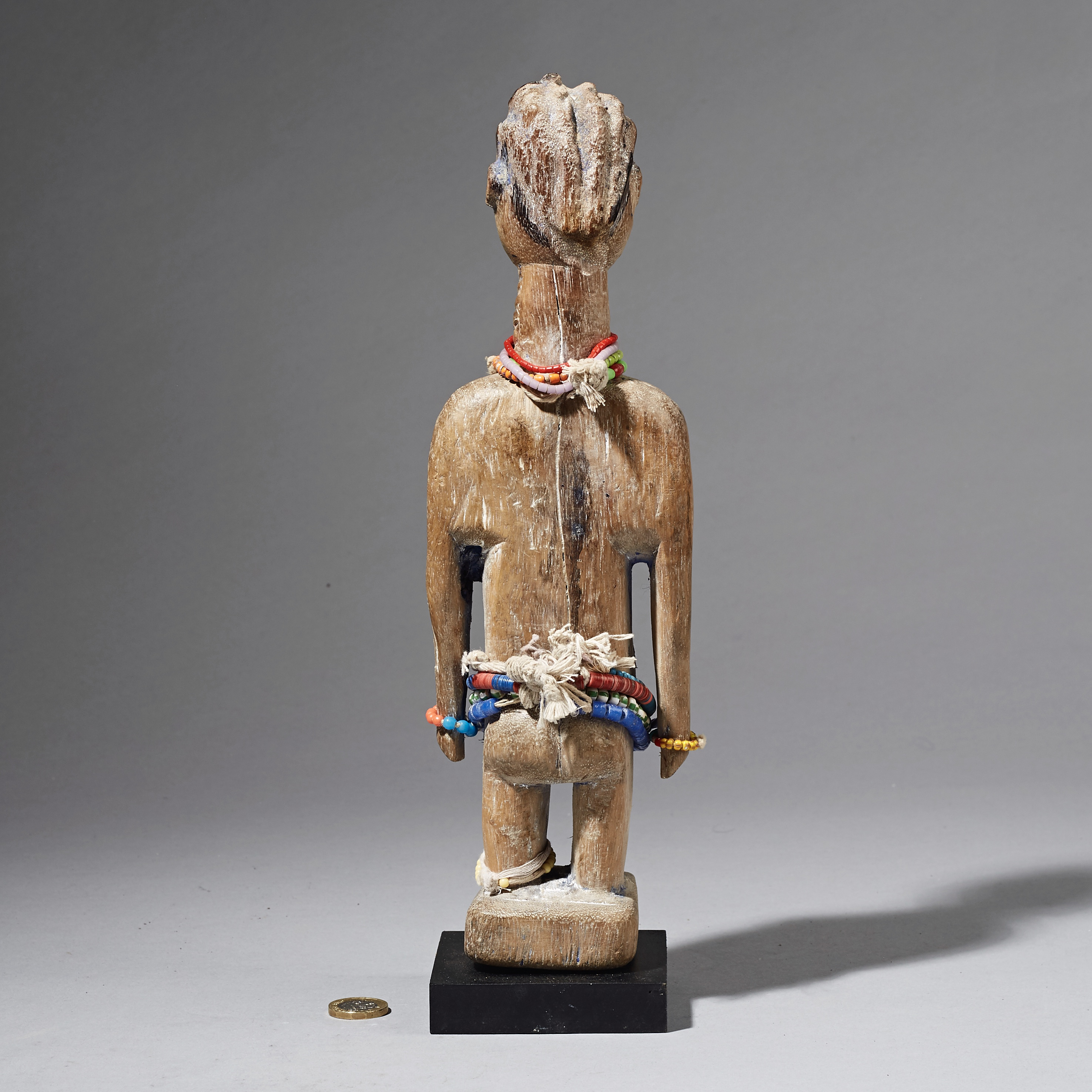 SD A  TALL, ADORNED, EWE DOLL FROM TOGO ( No 2551 )