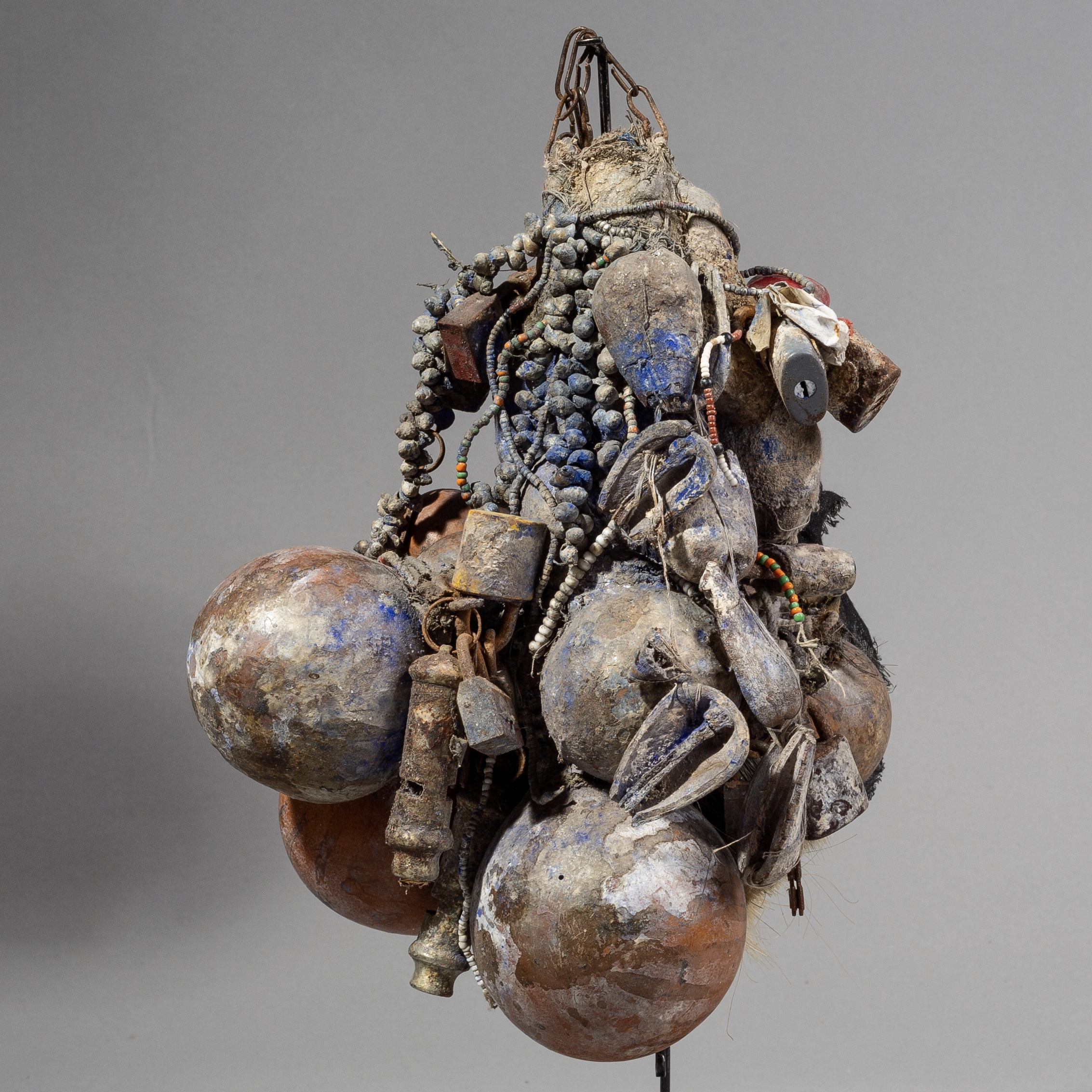 SDA FASCINATING POWER OBJECT FROM EWE TRIBE BENIN ( No 1594)