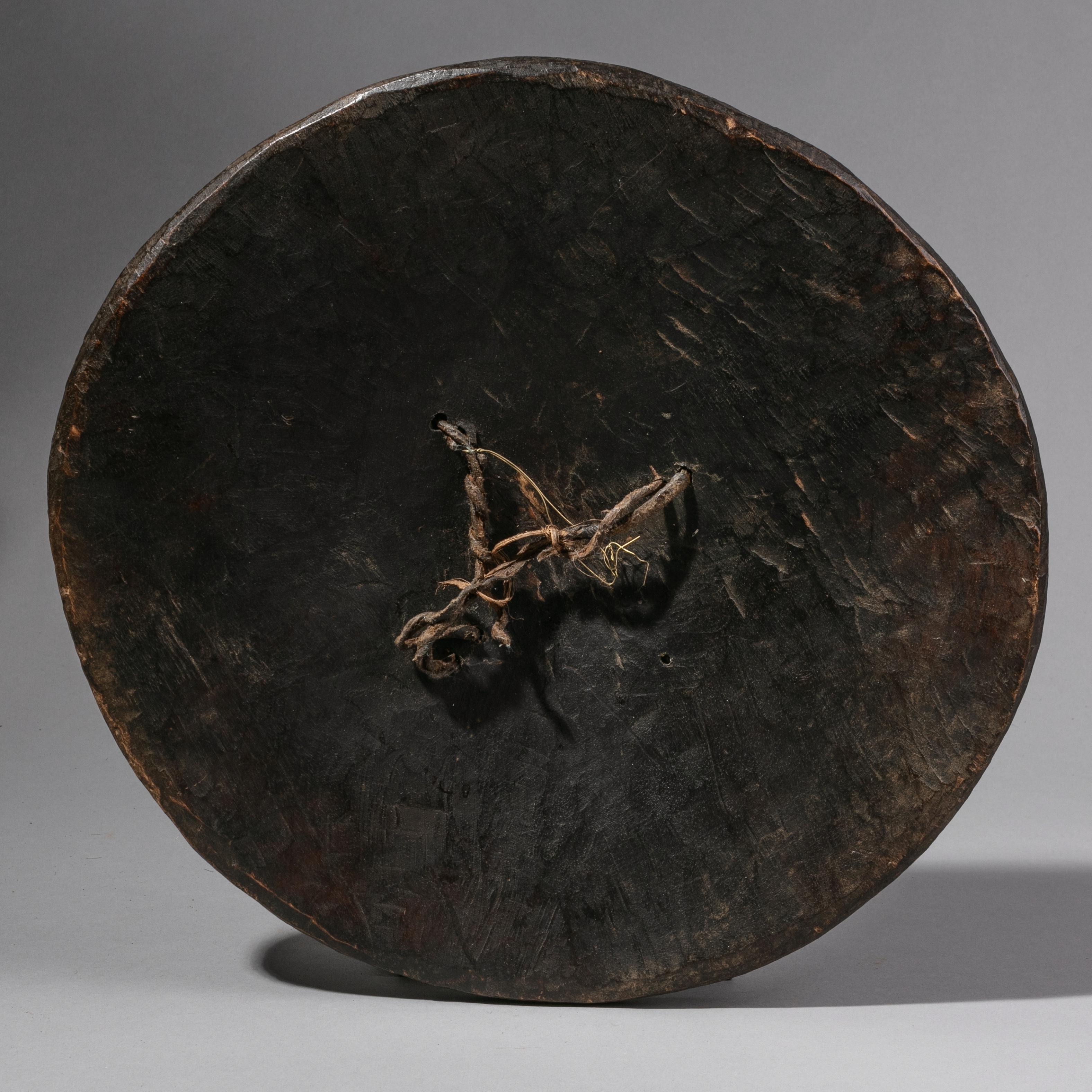 A SIMPLE WOODEN ETHIOPIAN SHIELD (No 1246 )