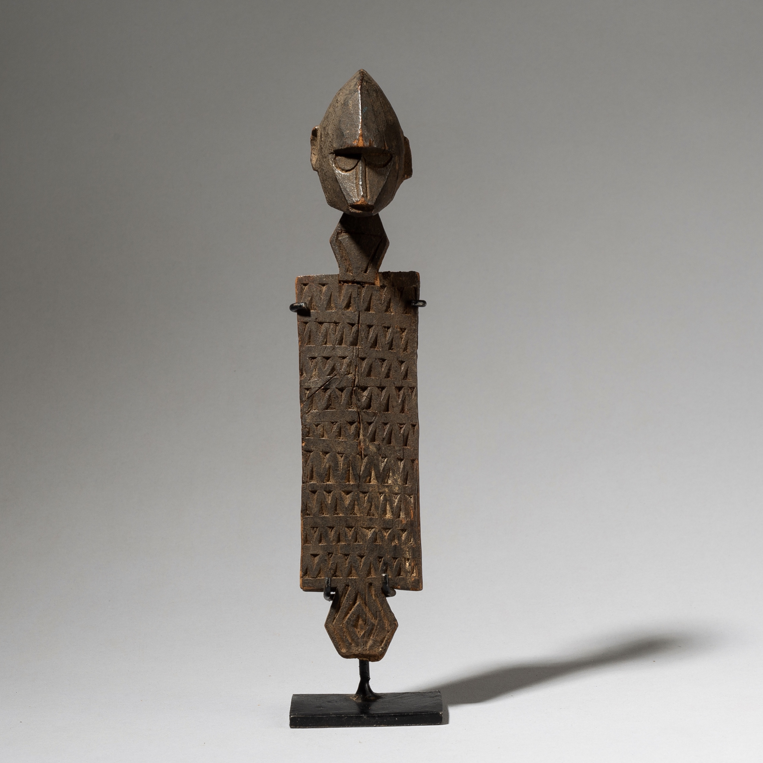 A SENOUFO FIGURATIVE FRAGMENT FROM THE IVORY COAST W AFRICA ( No 4067)