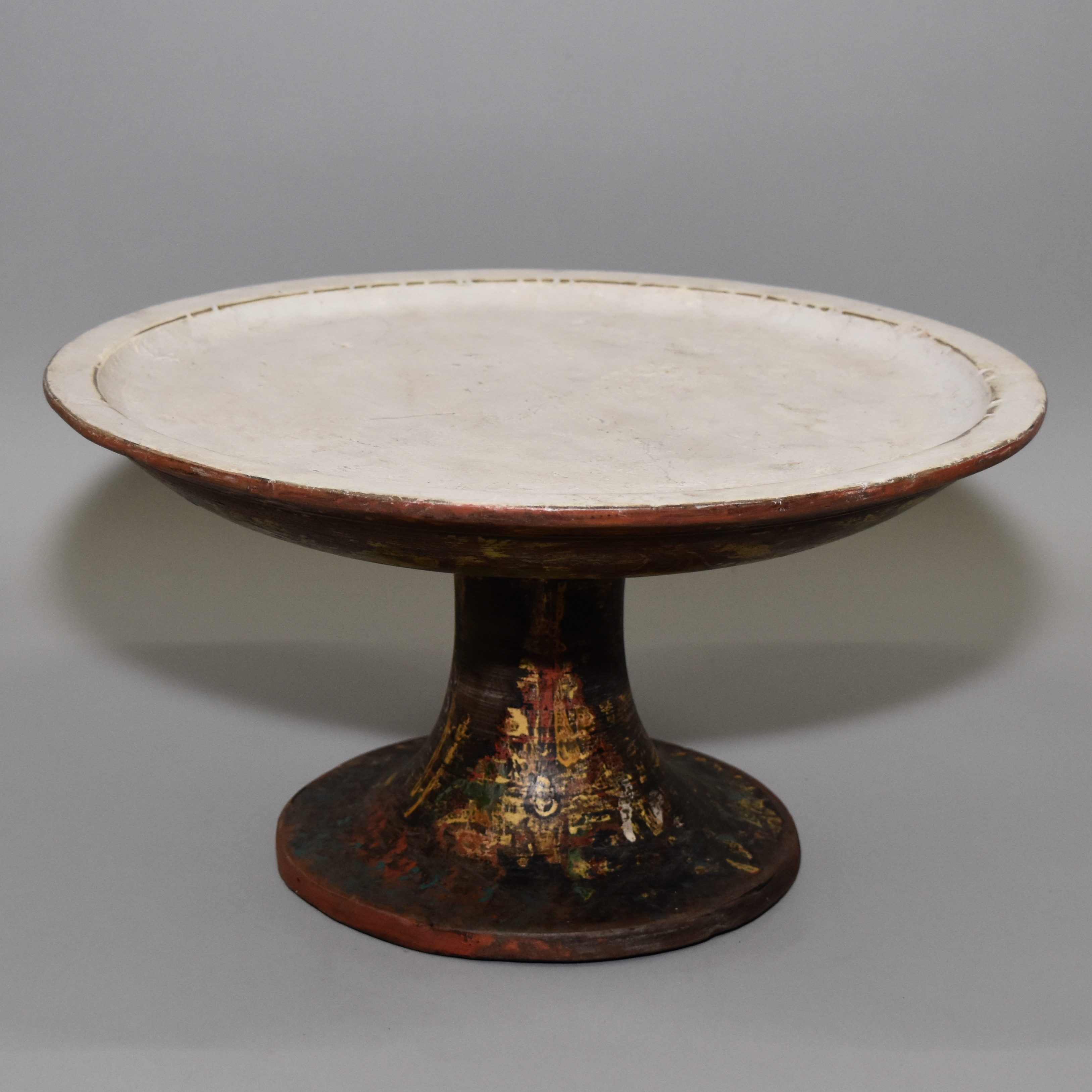 A PAINTED BALINESE  SMALL TABLE ( No 847 )