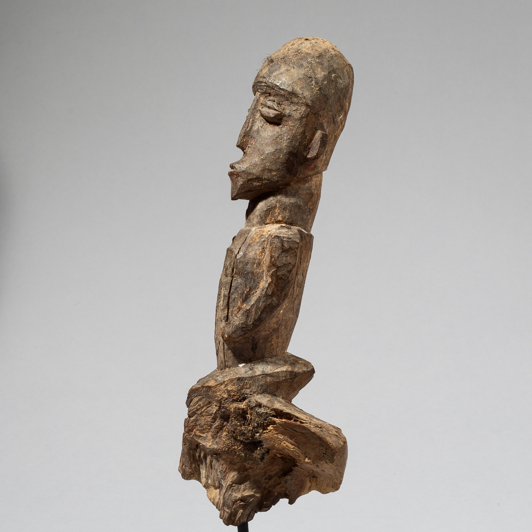 A CUBIST THIL FIGURE FROM BURKINA FASO, W.AFRICA ( No 4468 )