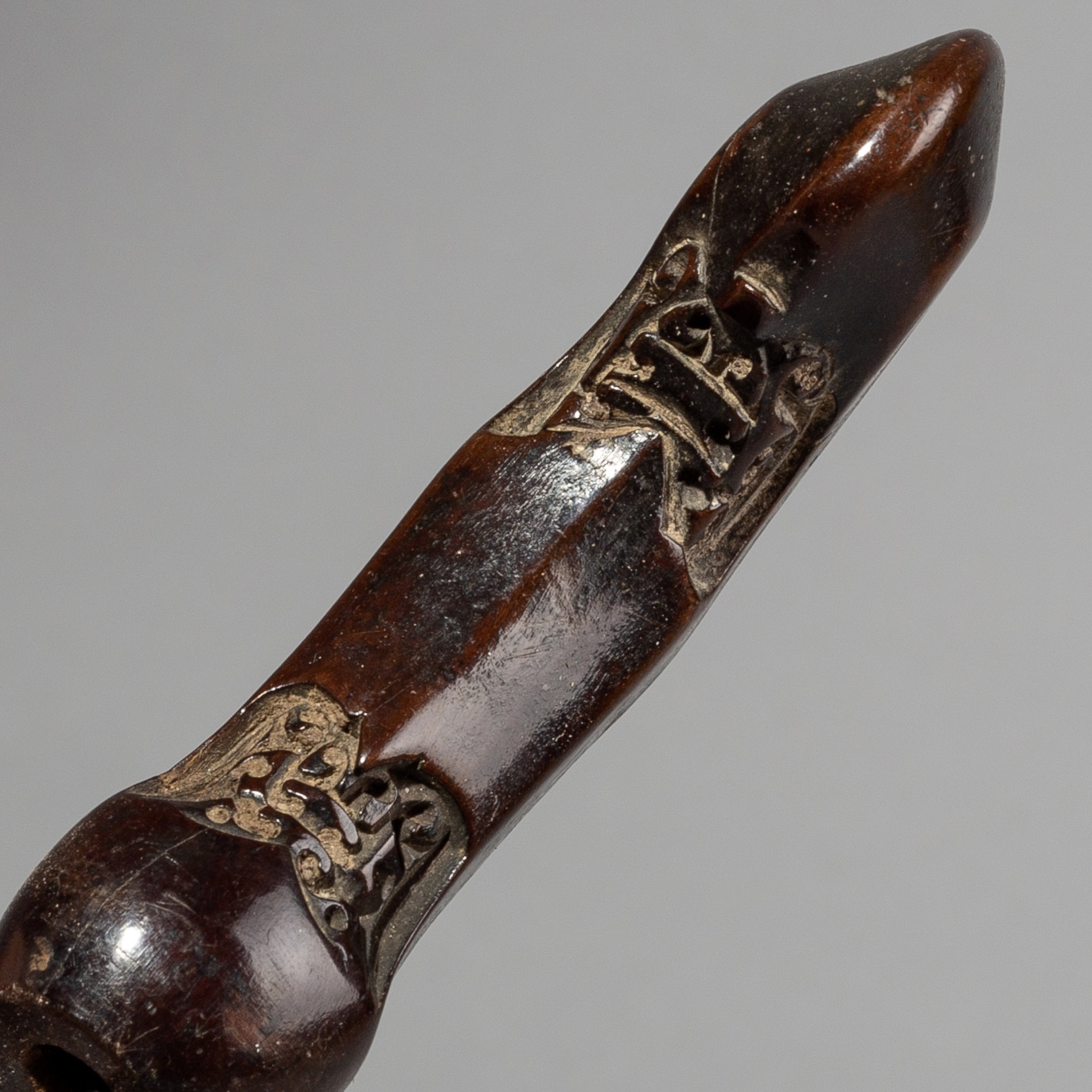 A FINELY ENGRAVED CEREMONIAL KRIS FROM INDONESIA ( No 1570 )
