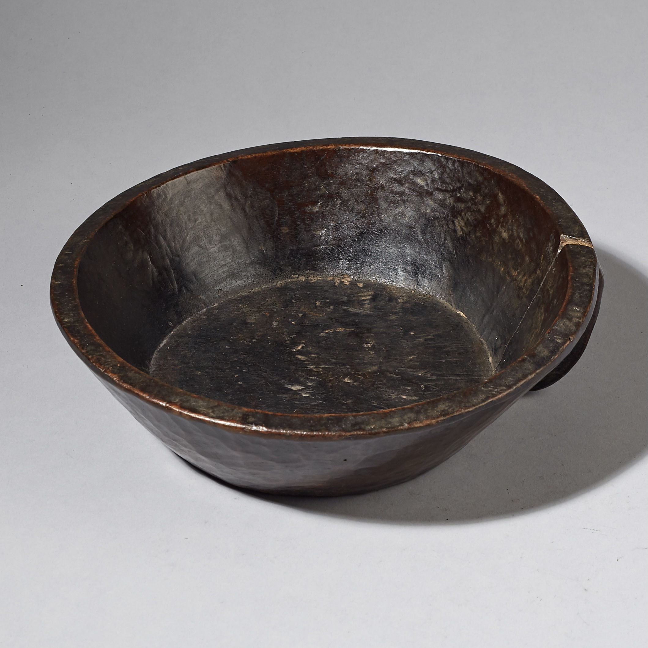 A NICE SMALL SIZED ETHIOPIAN BOWL (  No 2990 )