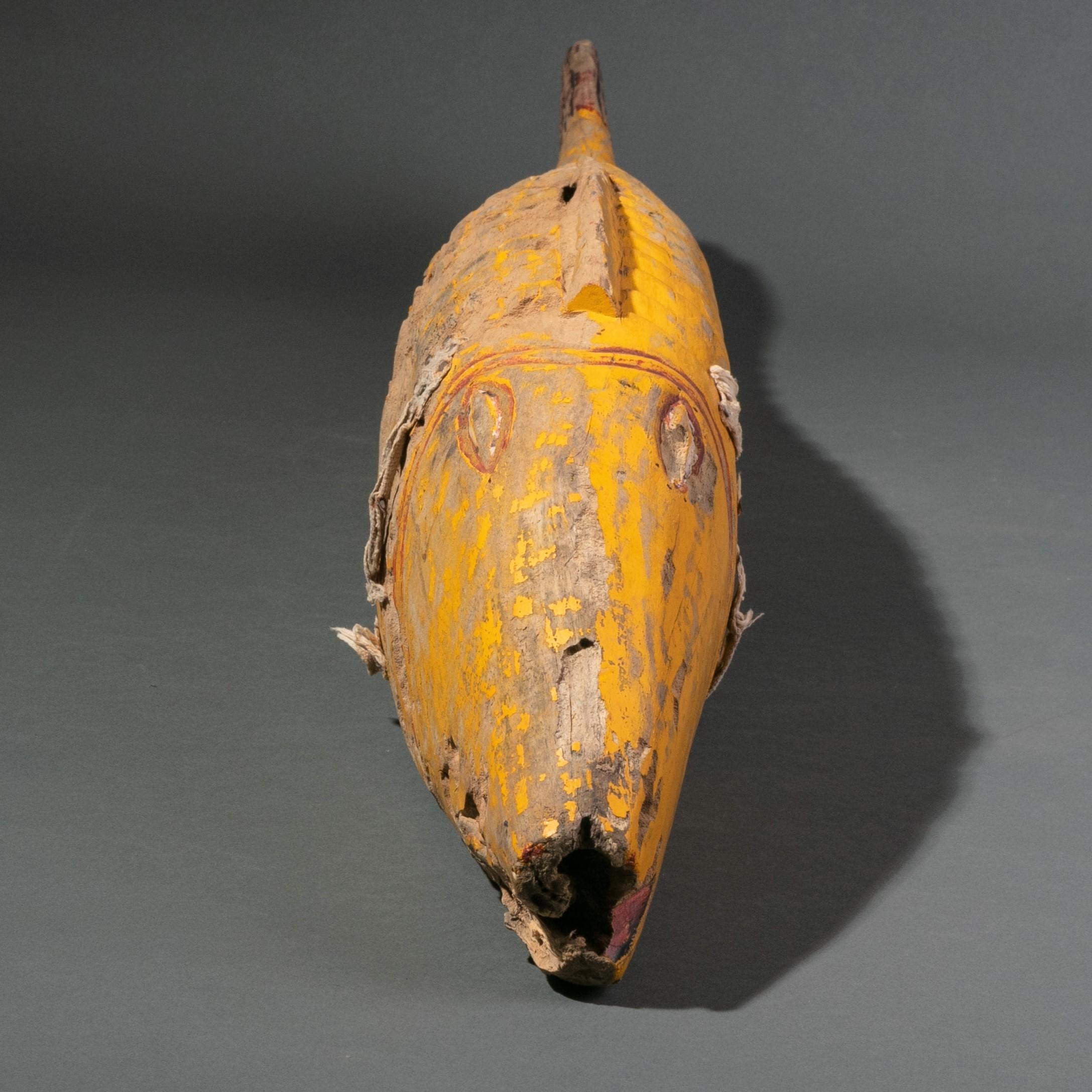 A DYNAMIC FON BRONZE, FROM A METAL ALTAR, BENIN ( No 3207 )