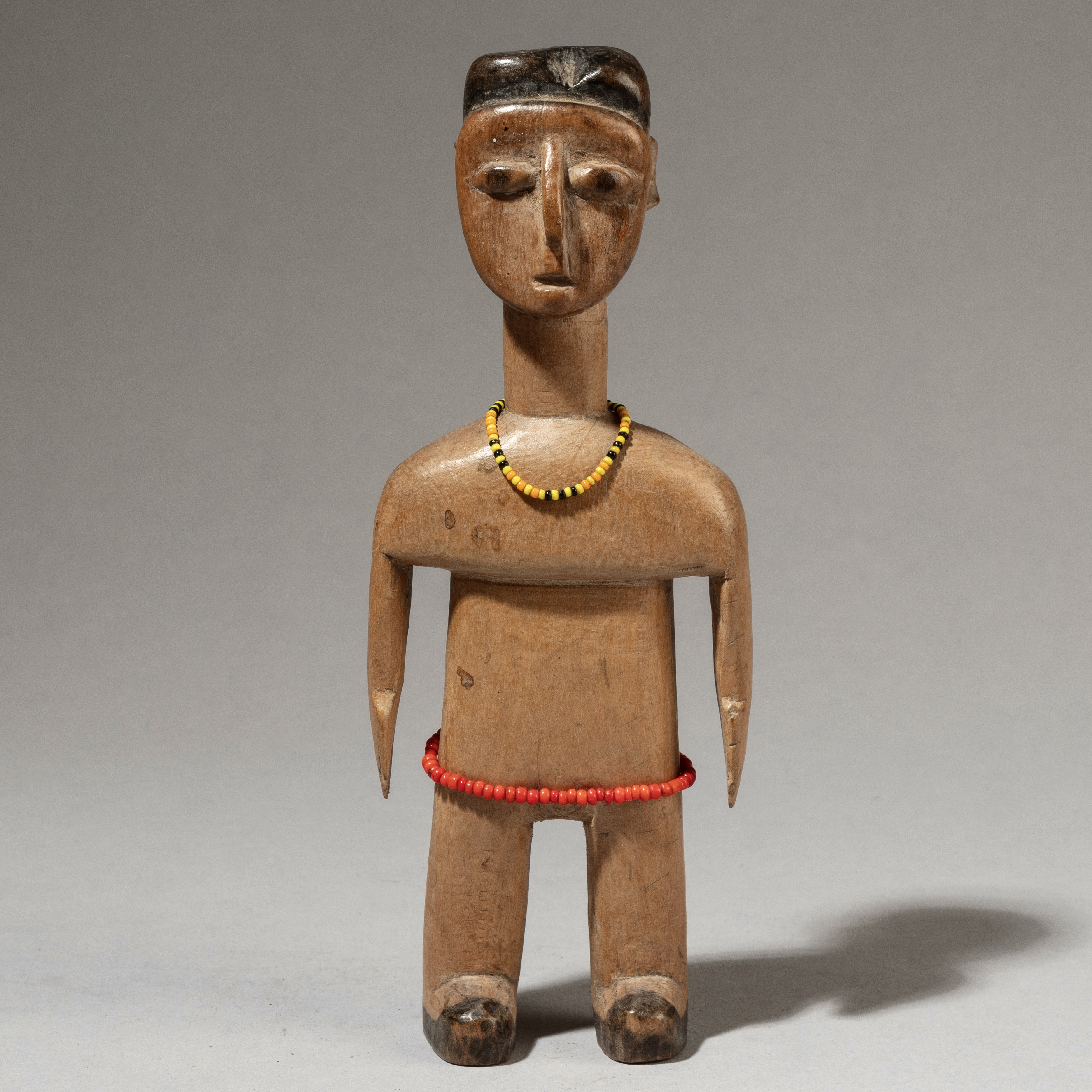 A CLASSIC EWE VENAVI DOLL FROM GHANA WITH ( No 3644 )