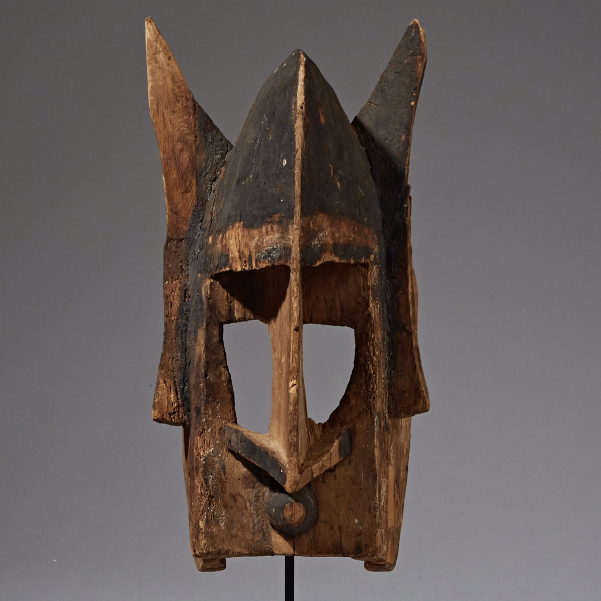 AN ATTRACTIVE OLD DOGON MASK  FROM MALI, EX  UK  COLL ( No 2282 ) NM