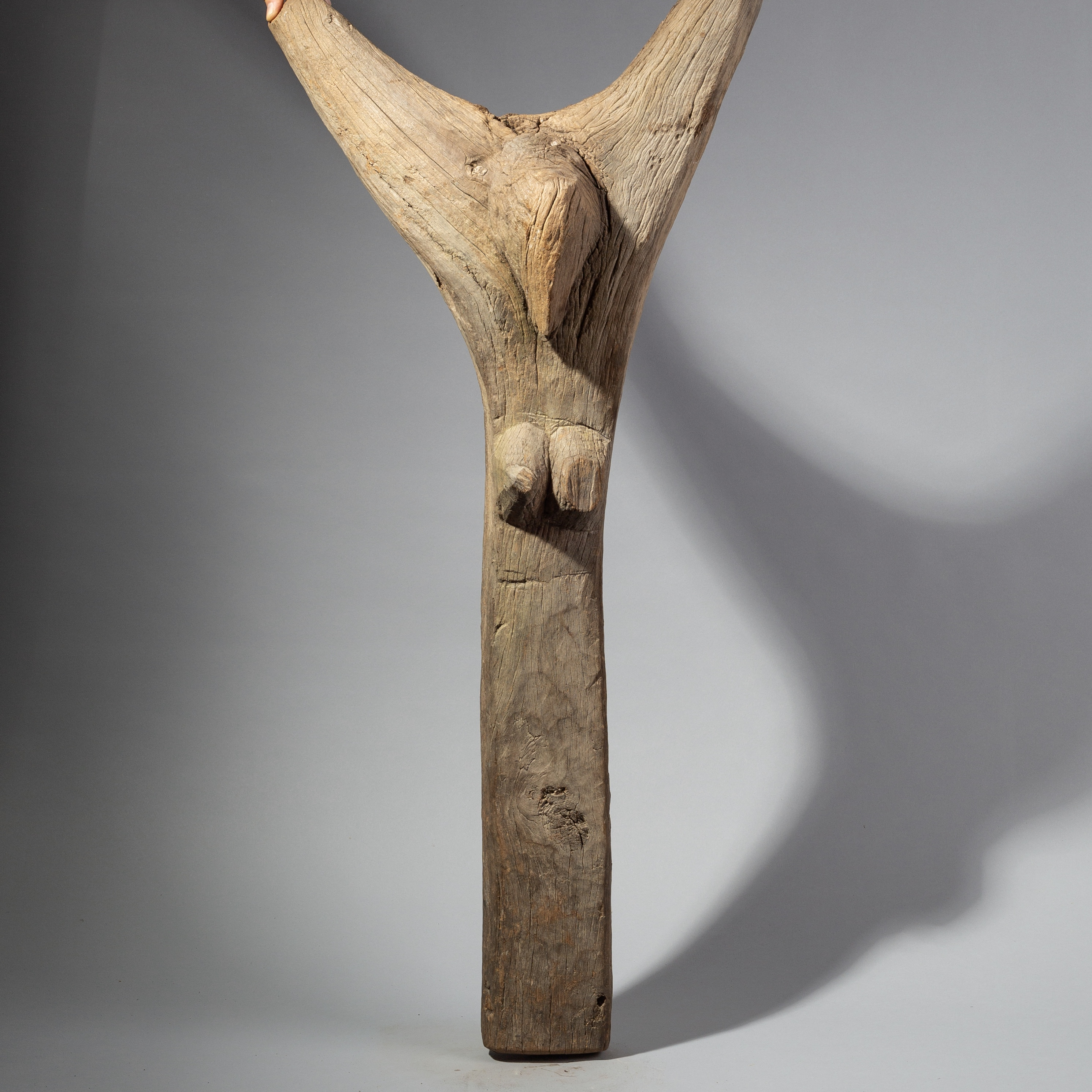SD A DOGON FIGURATIVE MYSTIC HOUSE POST FROM MALI ( No 1724 )