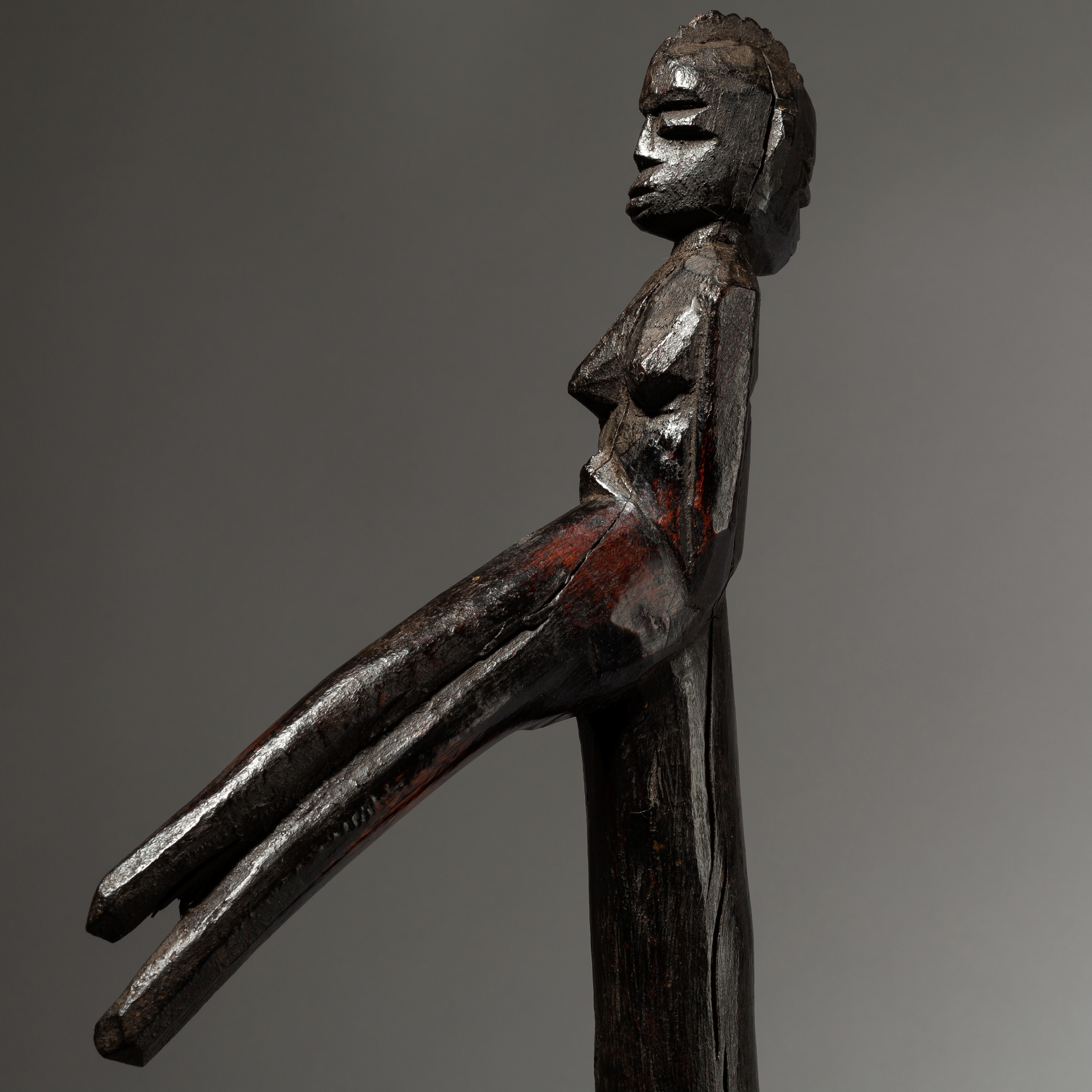 AN ALMIGHTY LOBI ELDERS CROOK FROM THE IVORY COAST, W AFRICA ( No 4032 )