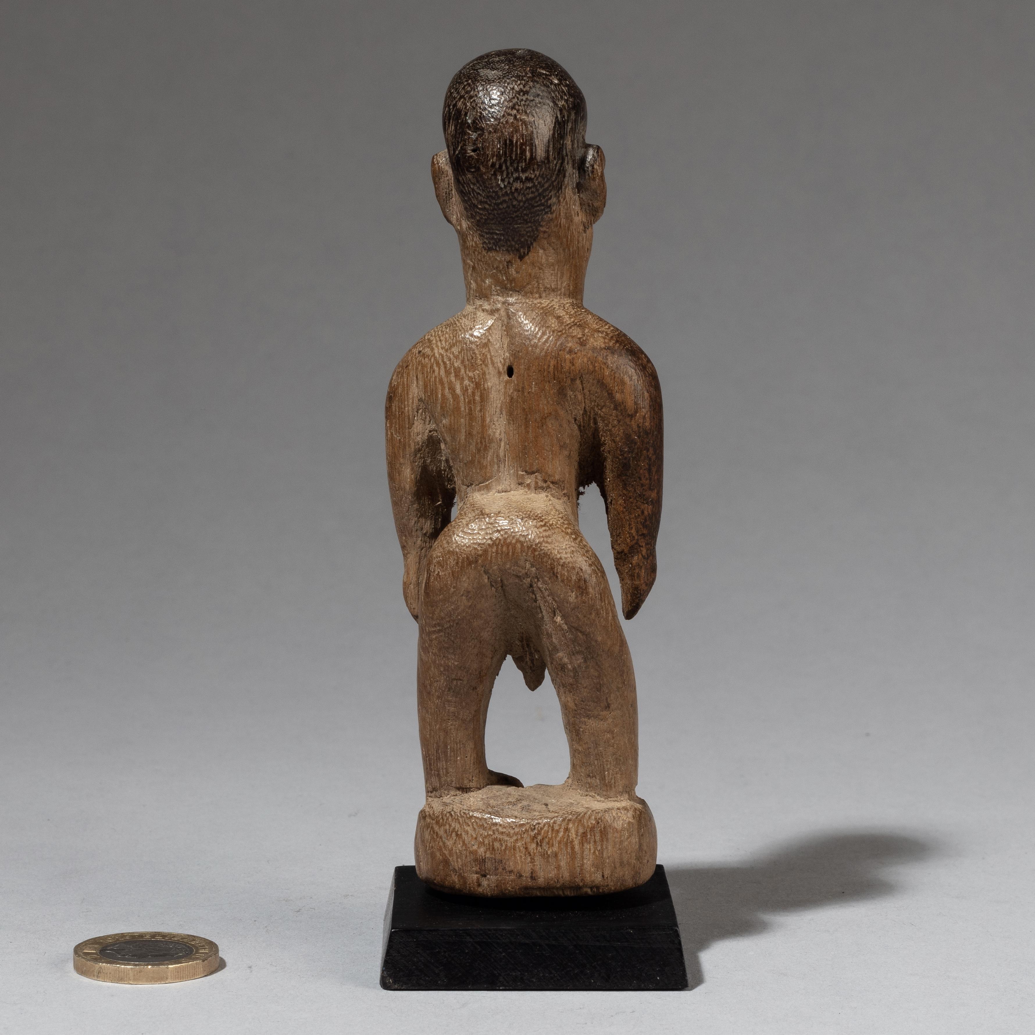 A MESOMORPH VENAVI DOLL, EWE TRIBE GHANA ( No 3431 )