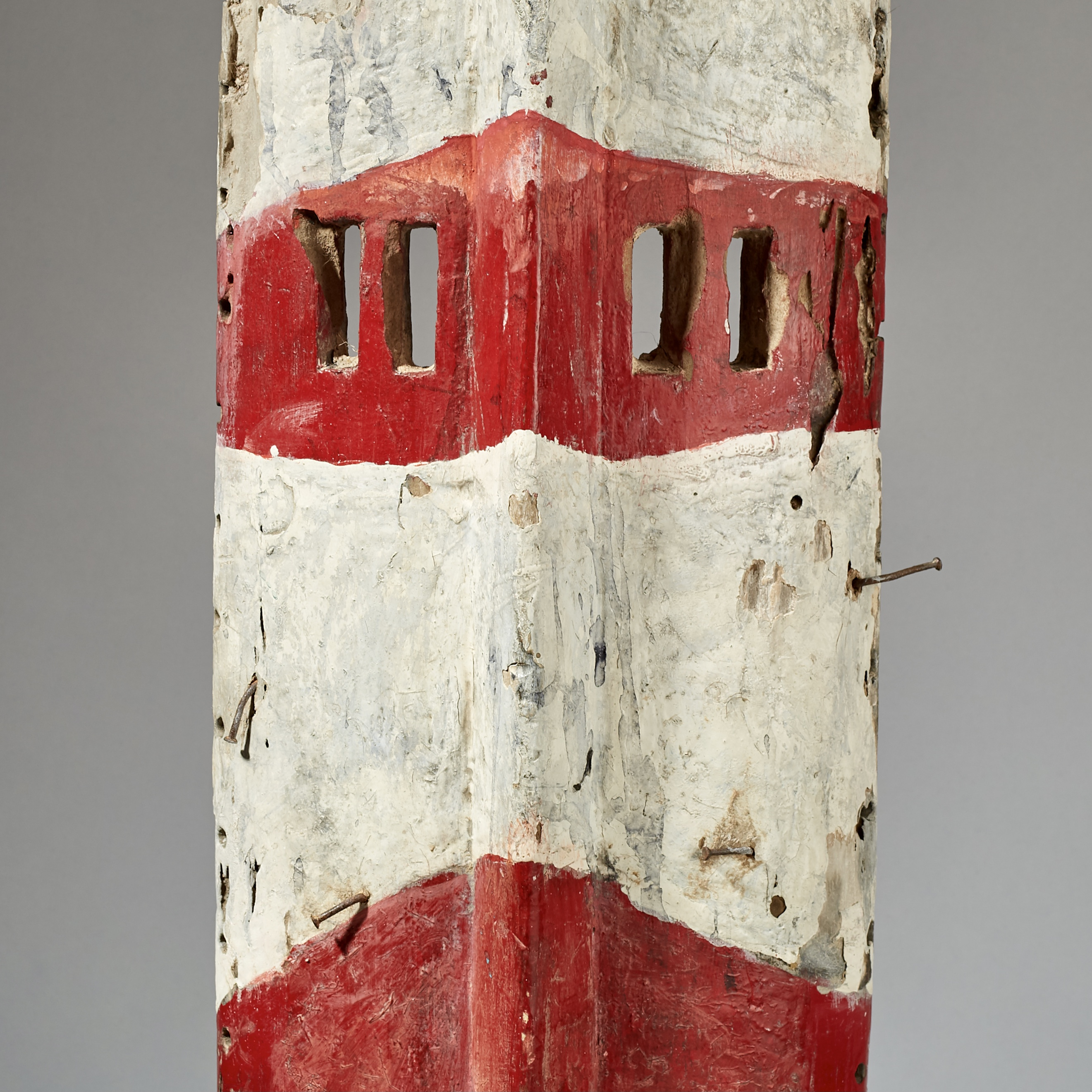 A TALL + GRAPHIC MOSSI MASK FROM BURKINA FASO ( No 3073 )