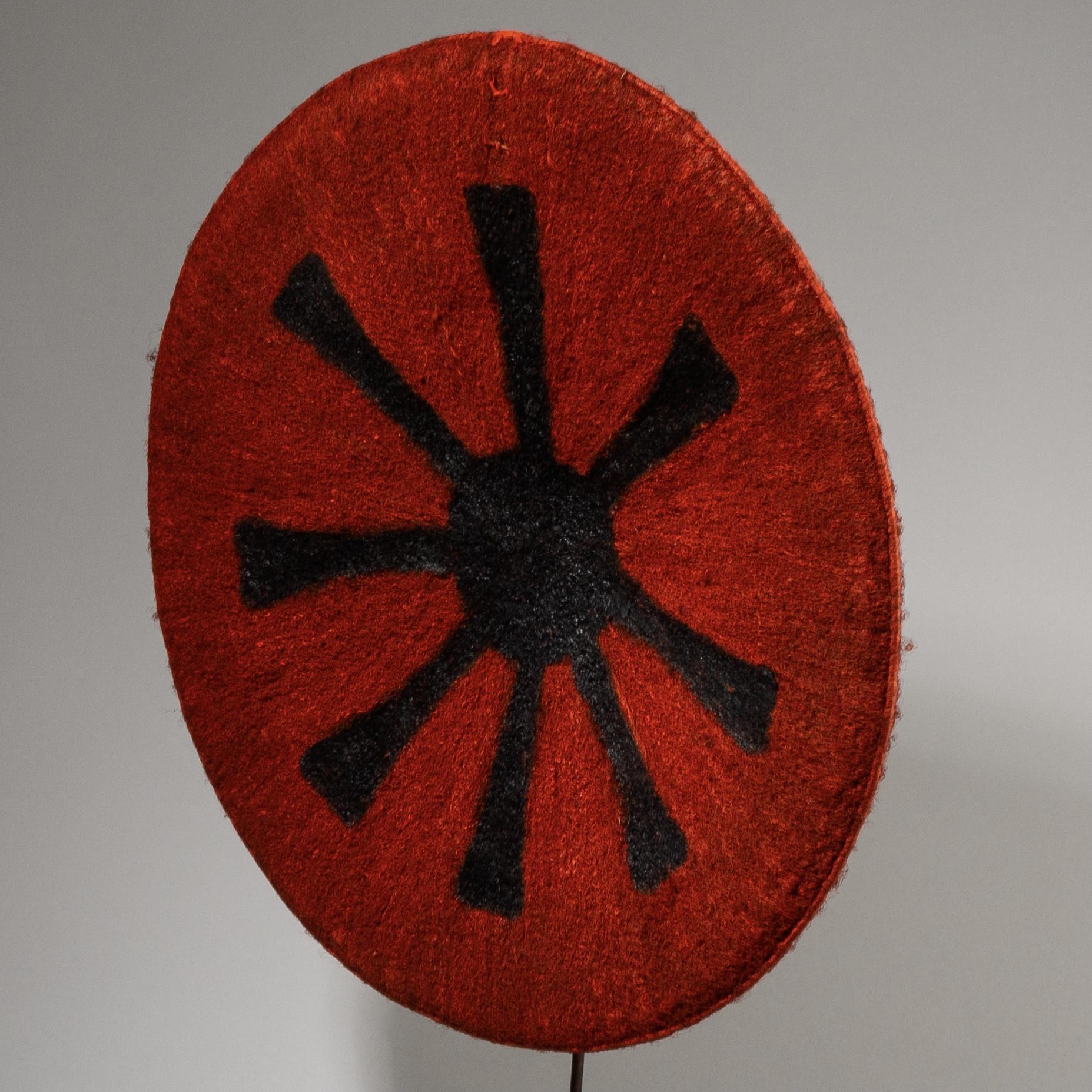 AN ENLIGHTENED ZULU HAT, SOUTH AFRICA ( No 3804)