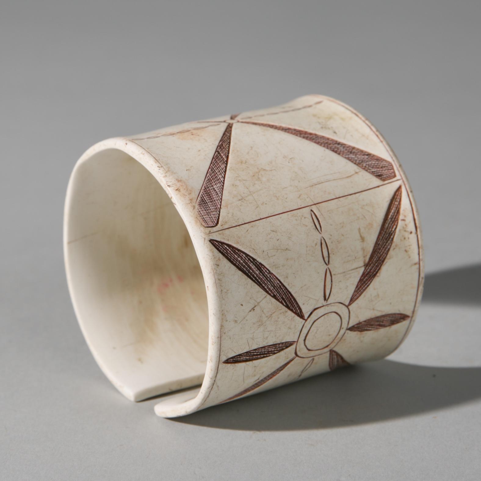 Sold YEARS-A SUBLIME HIMBA CUFF BRACELET, NAMIBIA, SW AFRICA ( No 3921 )
