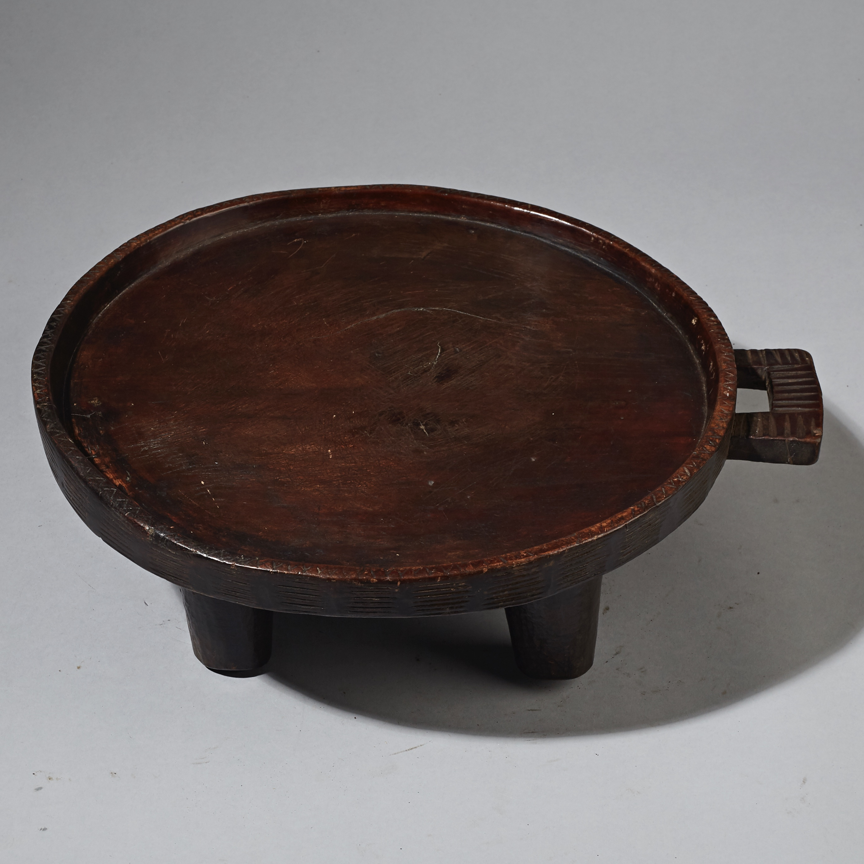 ( RESERVED DO )-Sold- A TRADITIONAL COFFEE TRAY FOR ETHIOPIA ( No 2336 )