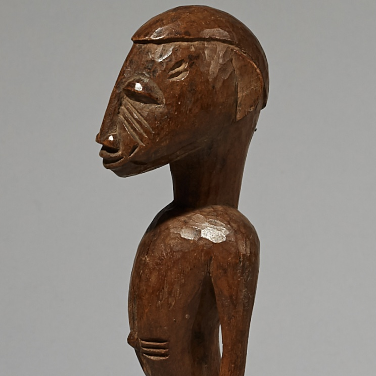 FINE SENOUFO CHARM FROM THE IVORY COAST W AFRICA ( No 4121 )