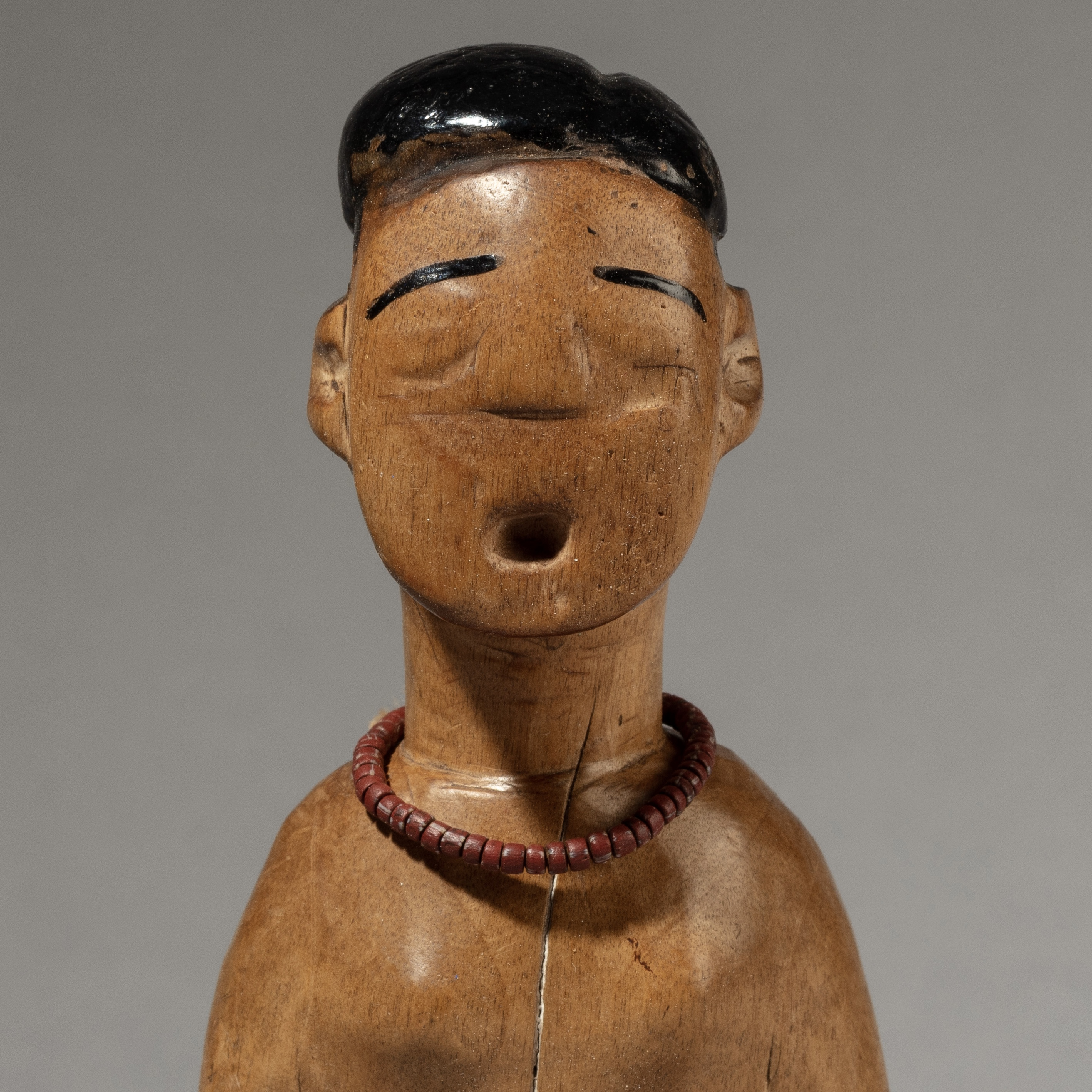 A SINGING VENAVI DOLL FROM EWE TRIBE GHANA ( No 3370 )