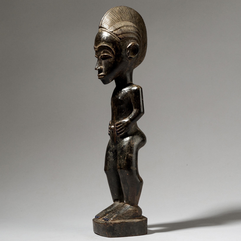 A MASTERFUL SPIRIT PARTNER, BAULE TRIBE IVORY COAST W AFRICA ( No 4063)