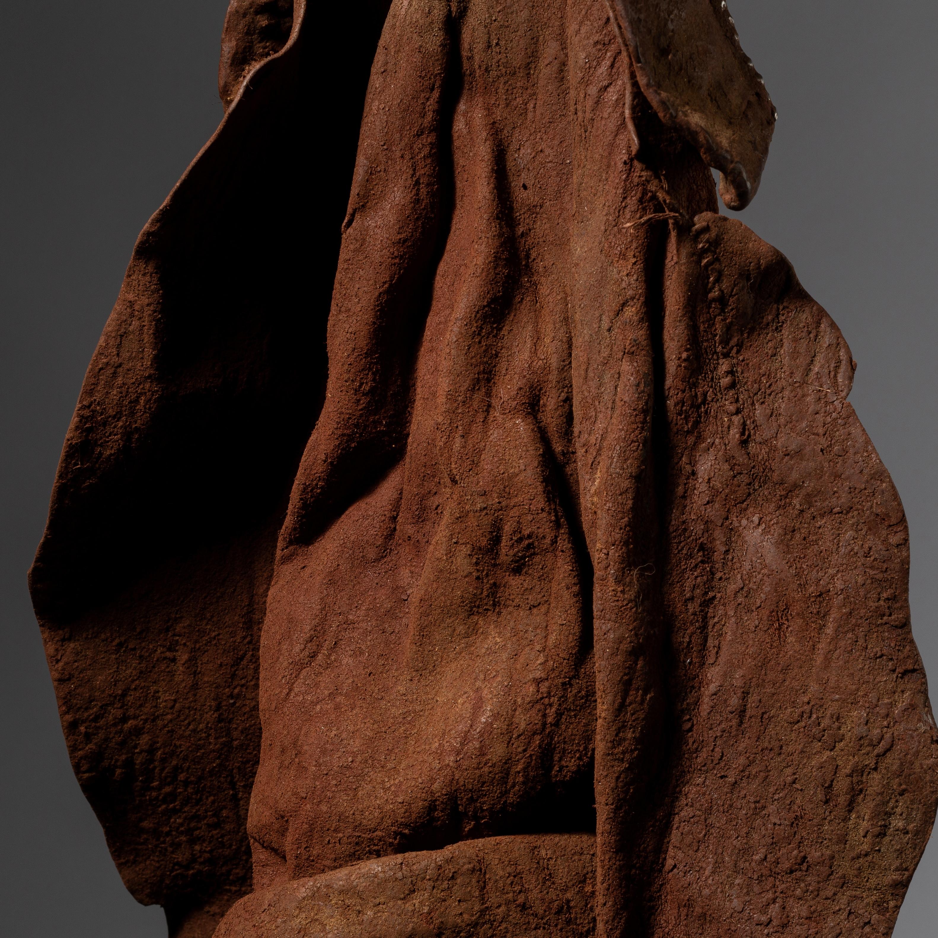 AN ICONIC HIMBA HEADDRESS FROM NAMIBIA( No 3728 )