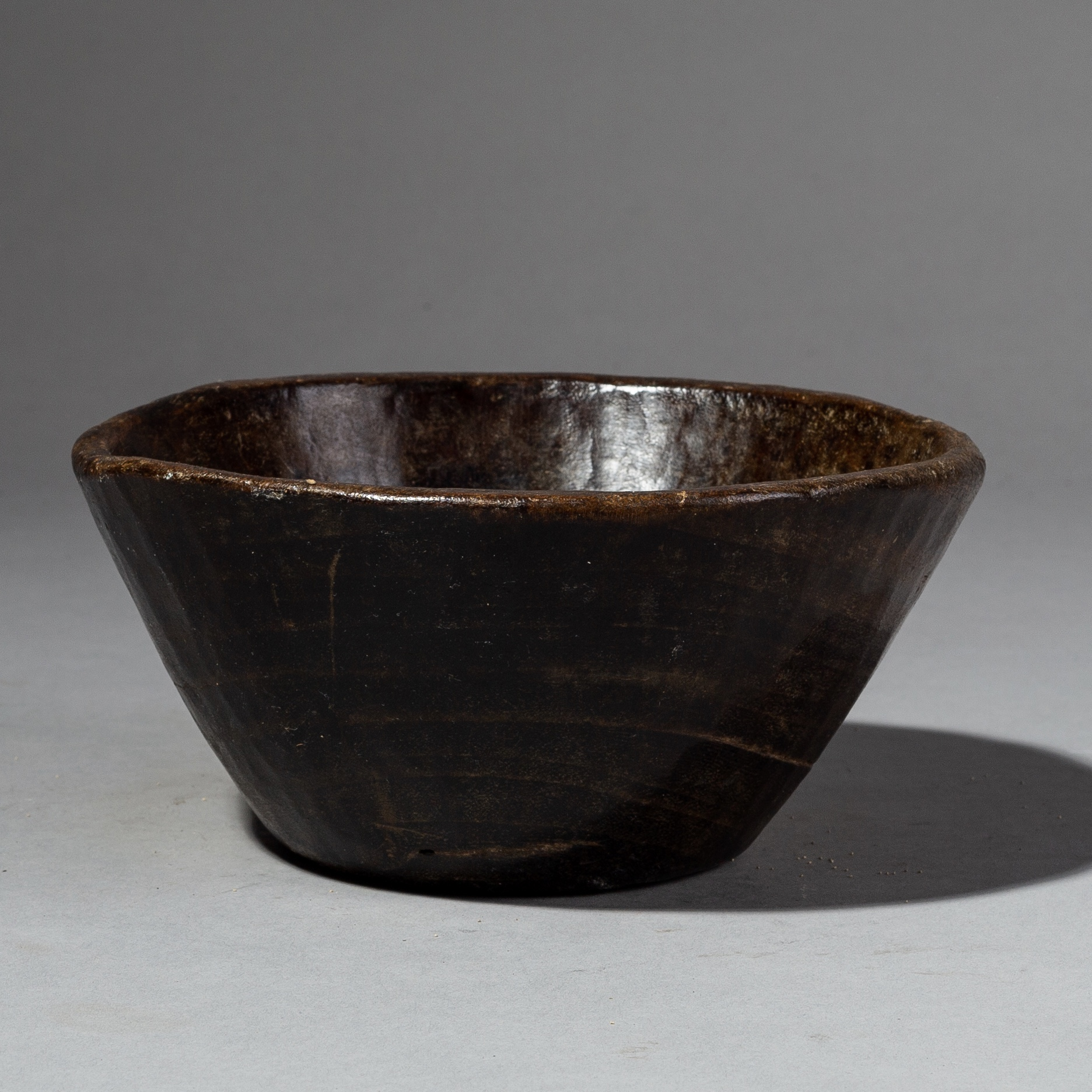 A CUTE SMALL TRIBALLY USED  BOWL FROM ETHIOPIA ( No 2116 )