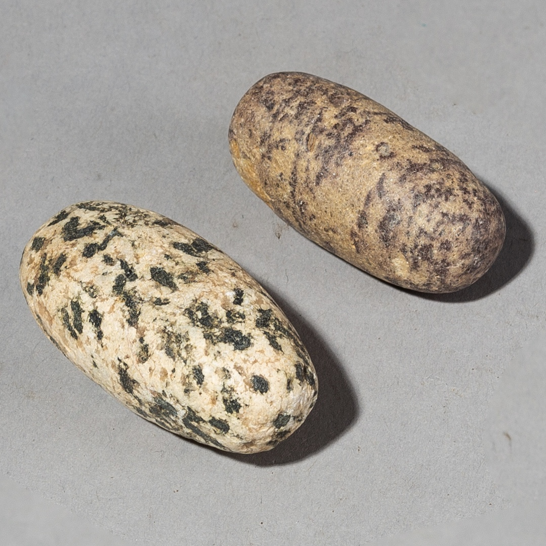 2 OLD SAHARAN STONES FROM MALI ( No 2151 )