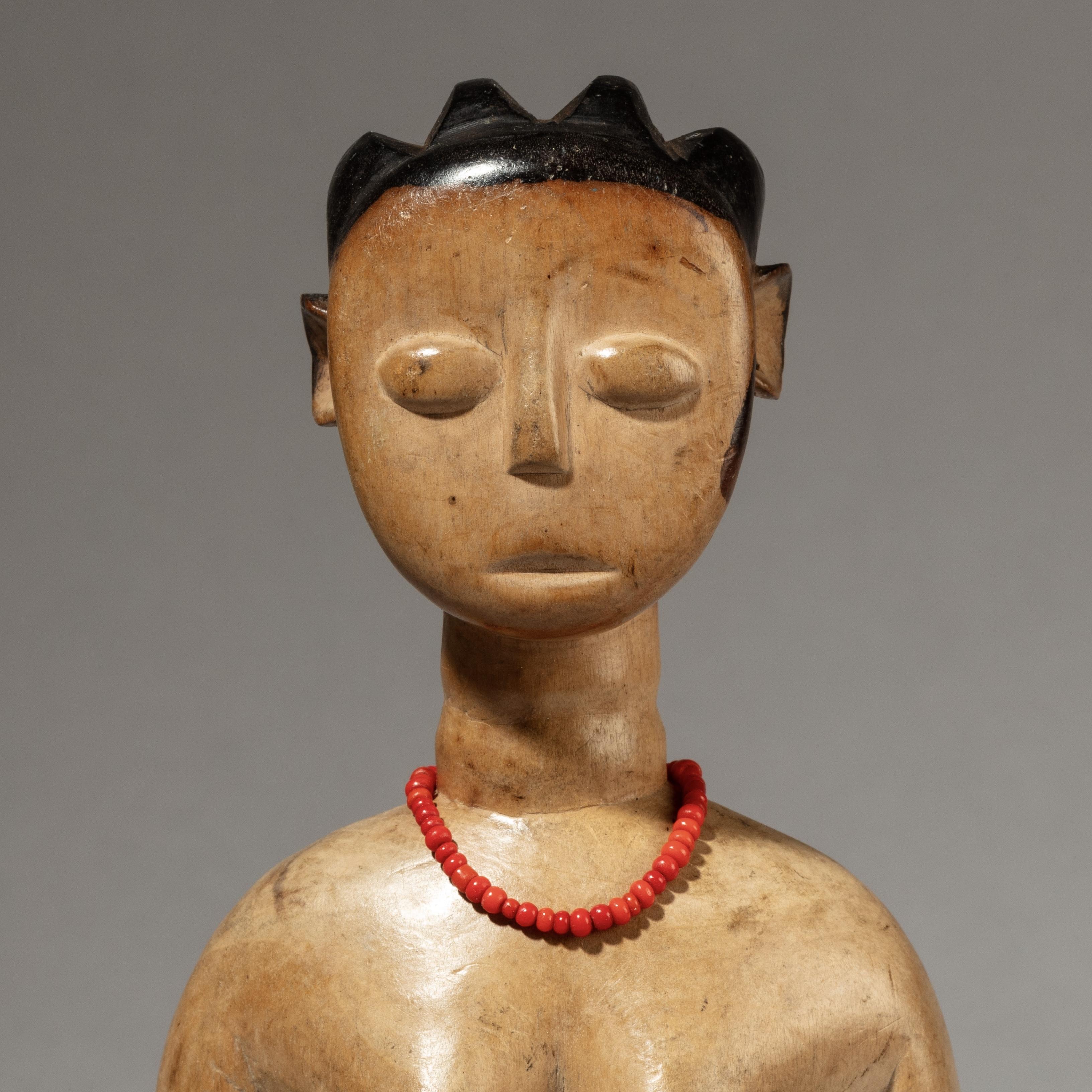 A SERENE VENAVI DOLL, EWE TRIBE GHANA ( No 3599 )