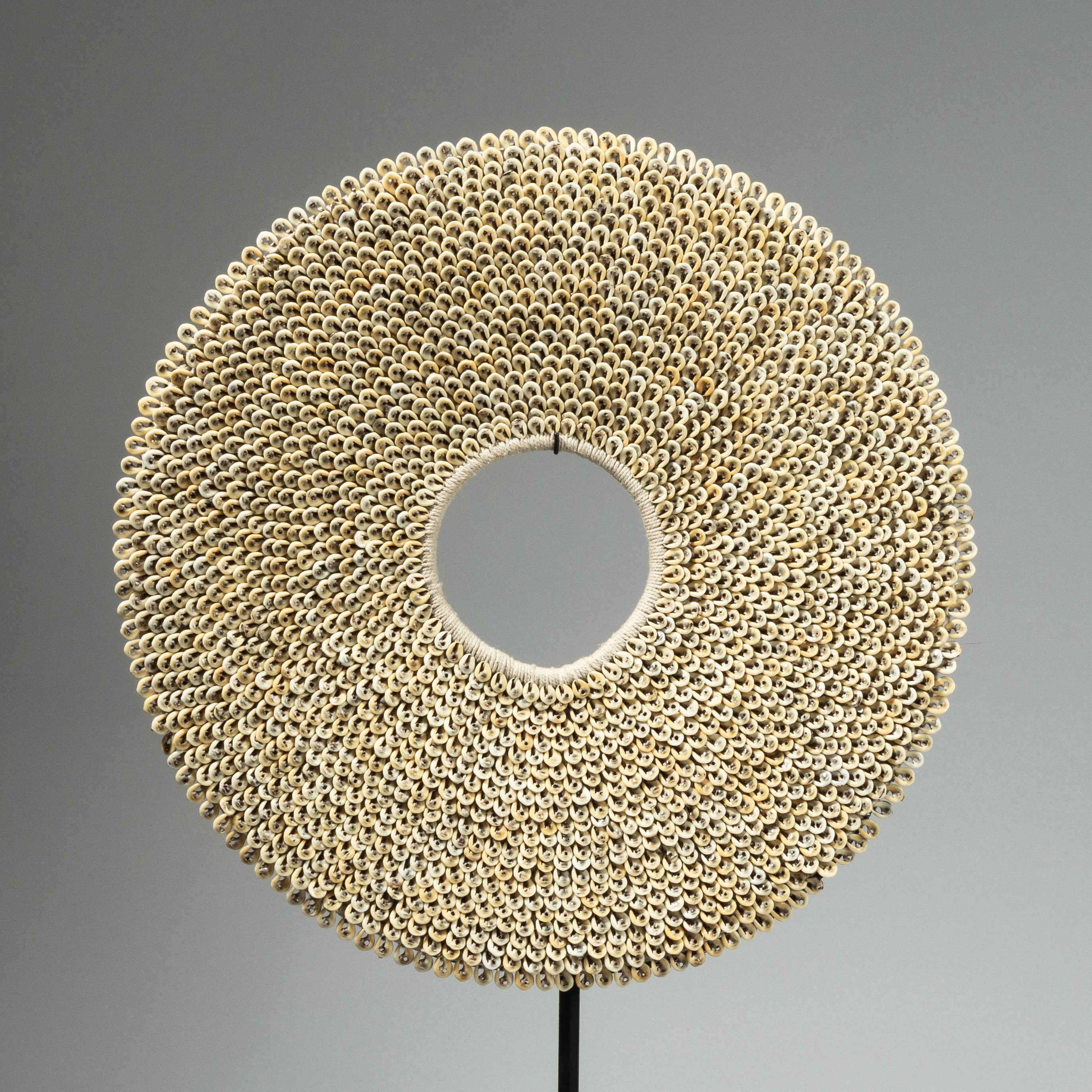 SD A PRETTY COWRIE SHELL RING FROM PAPUA NEW GUINEA ( No 4260)