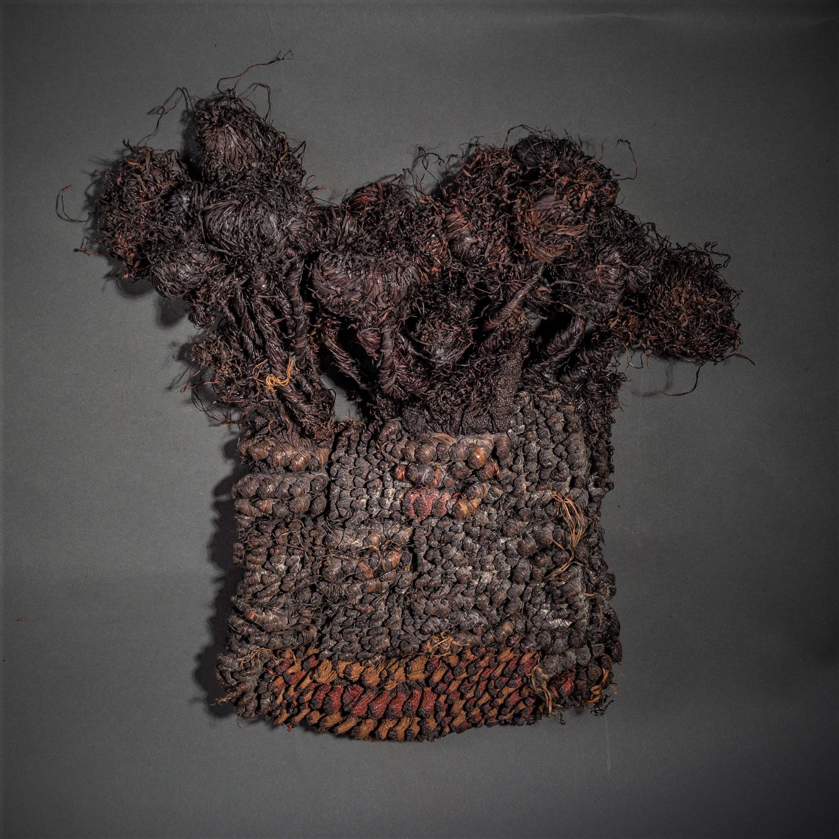 A RARE OLD DIDA HAT WITH INTRICATE TEXTURES ( No 132 )