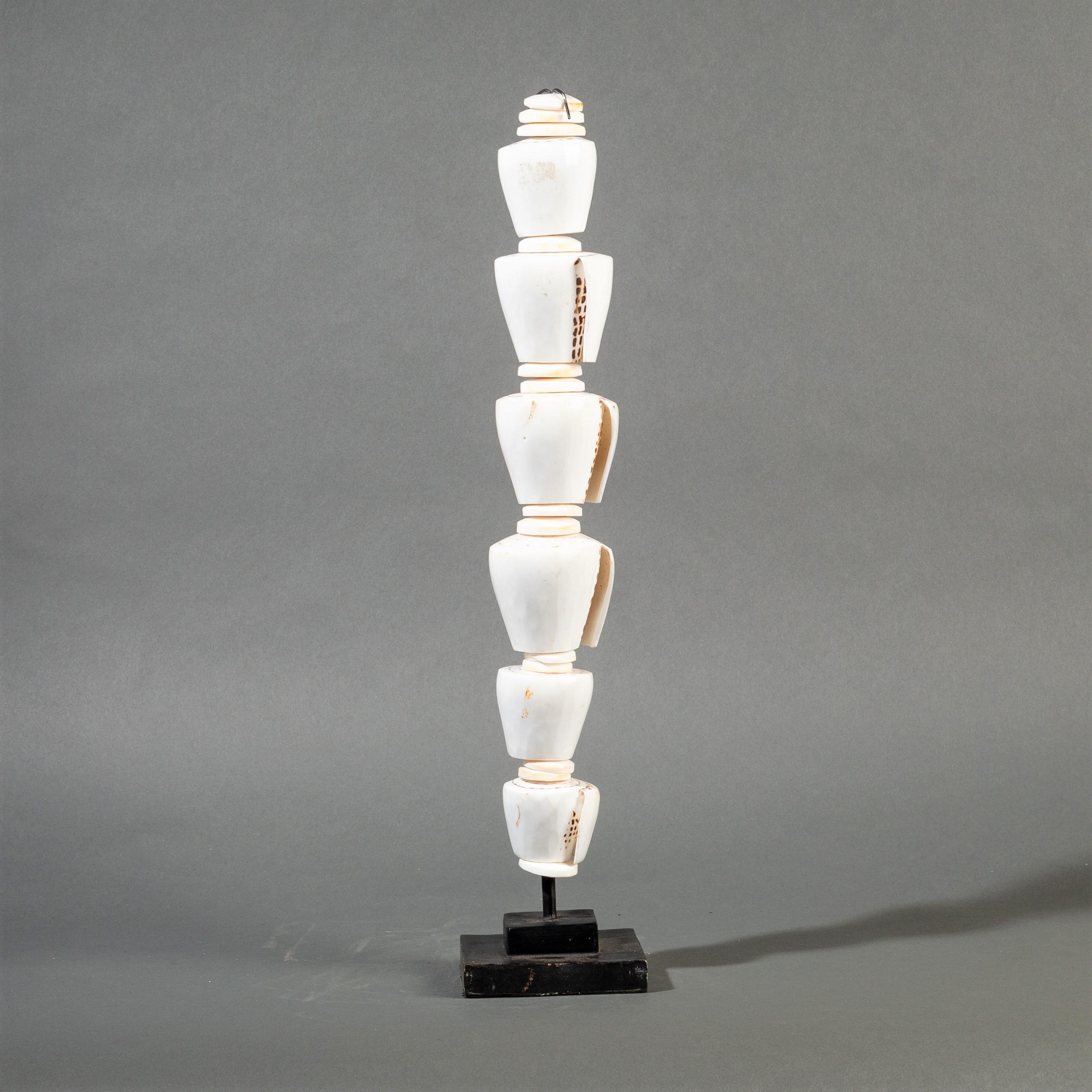 A WHITE SHELL TOWER ( No 343 )
