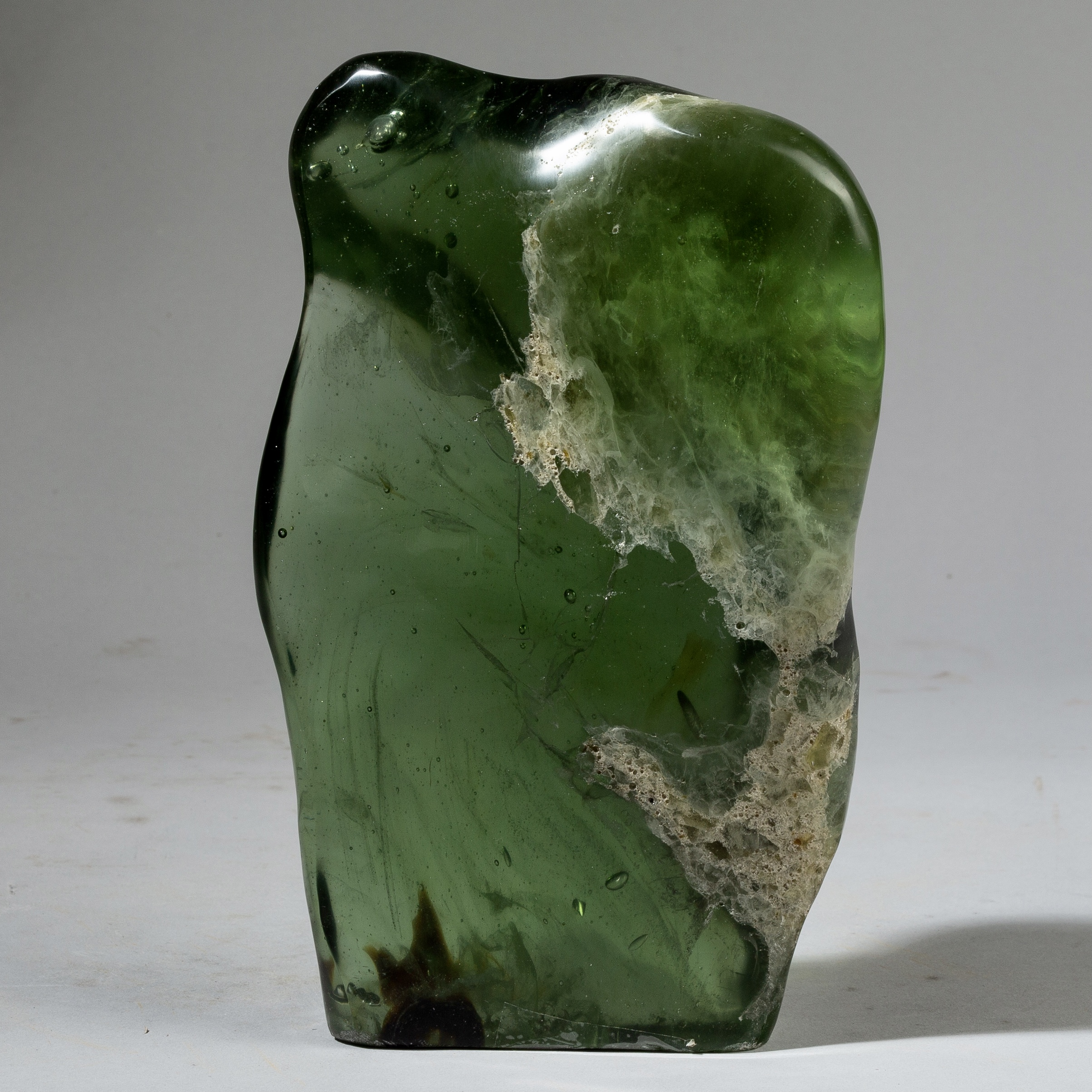 AN INCREDIBLE GLASS FORM FROM MADAGASCAR ( No 3418 )