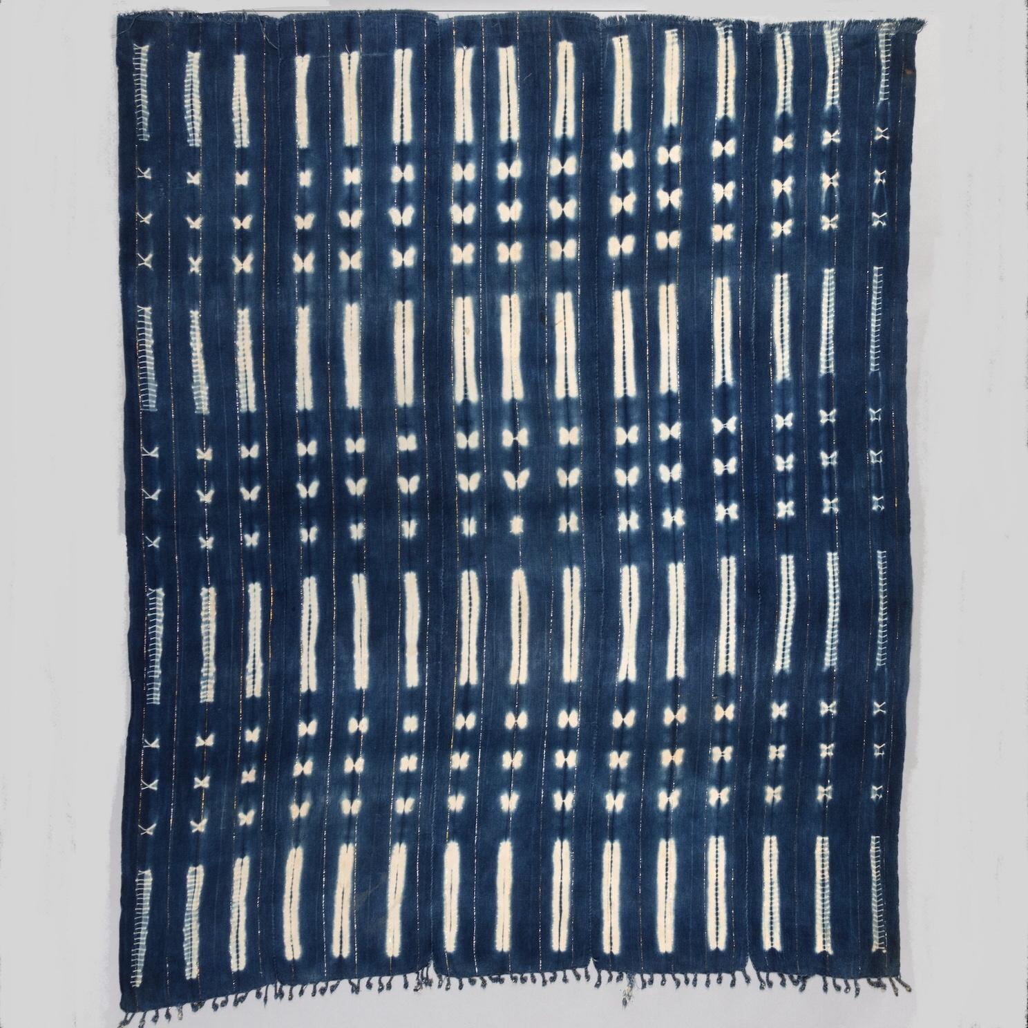 A POWERFUL CLOTH, MOSSI TRIBE BURKINA FASO ( No 3484 )