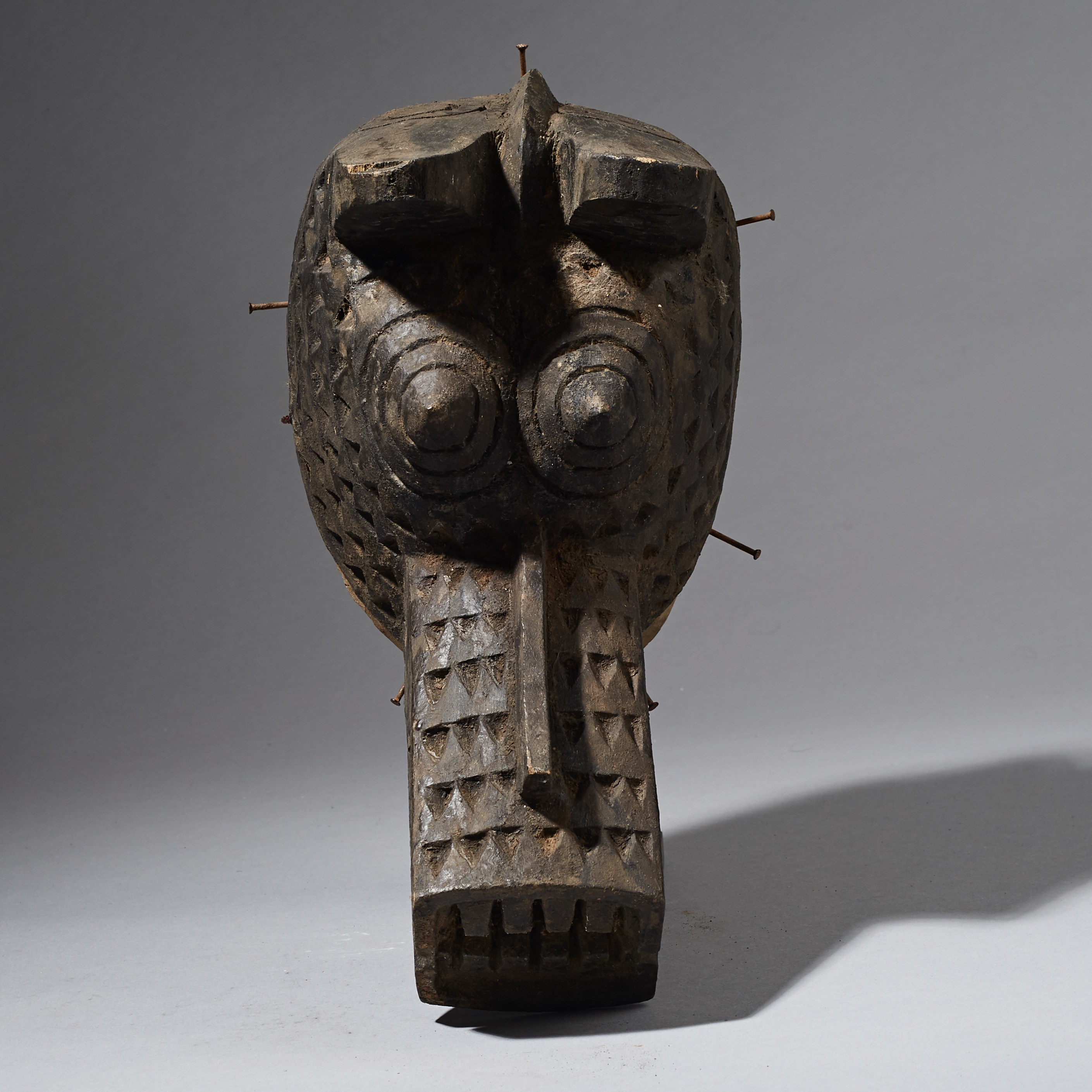 A MOSSI ANIMAL MASK FROM BURKINA FASO ( No 2478 )