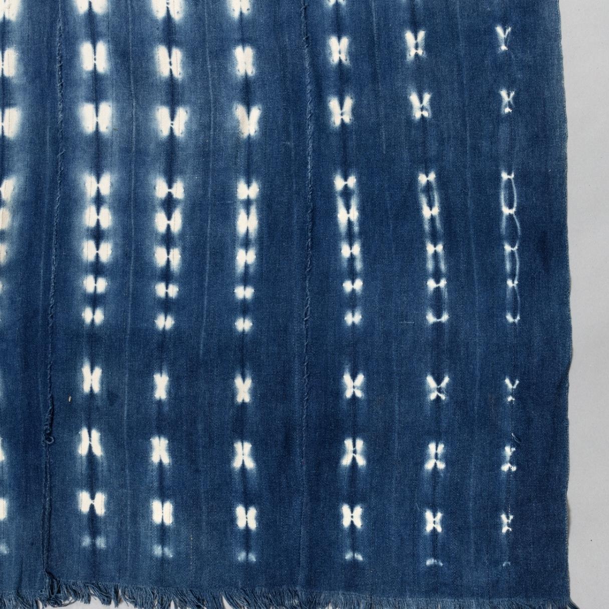 A PEACEFUL CLOTH, MOSSI TRIBE BURKINA FASO ( No 3585 )