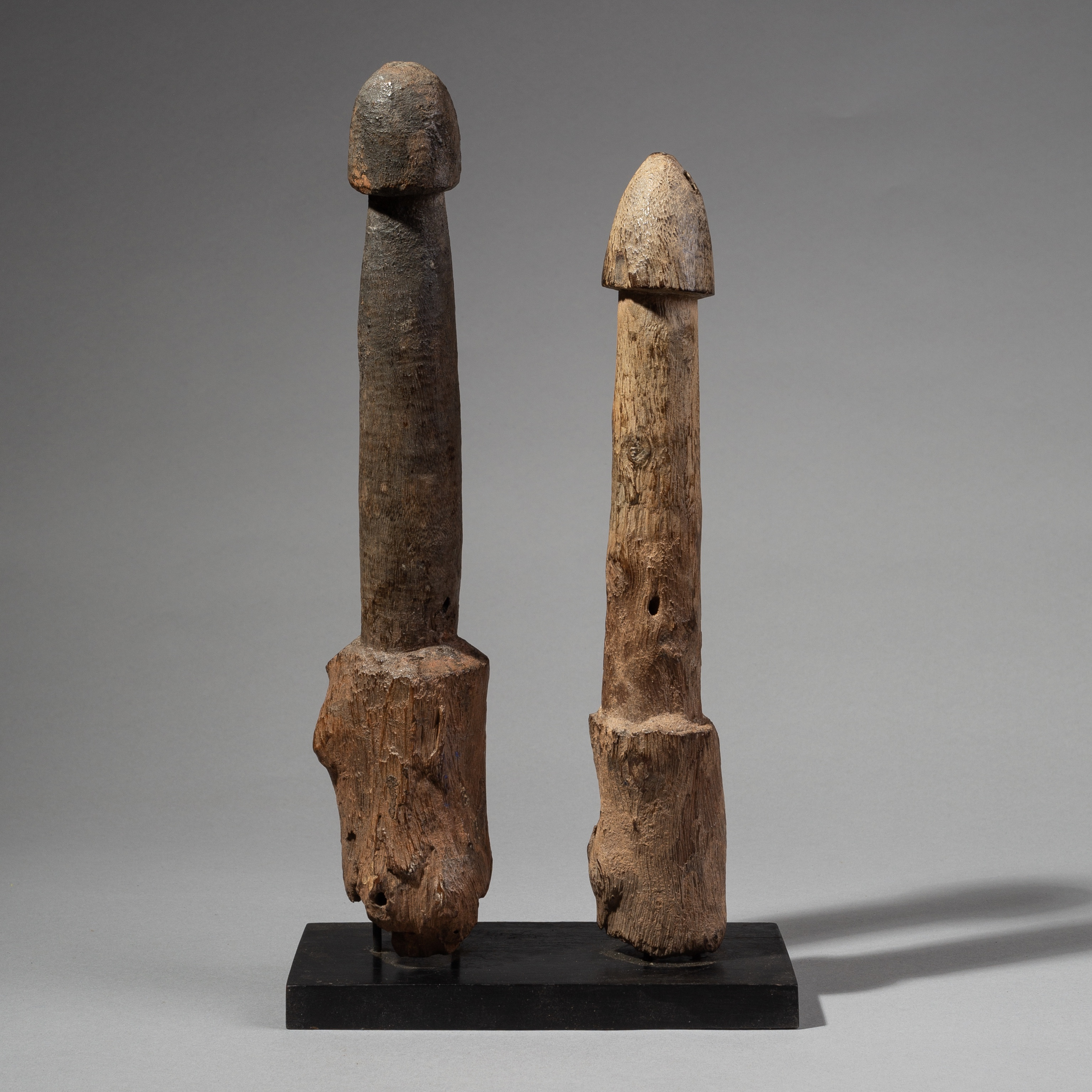 A PAIR OF FERTILITY LEGBA FROM FON TRIBE BENIN ( No 1948 )