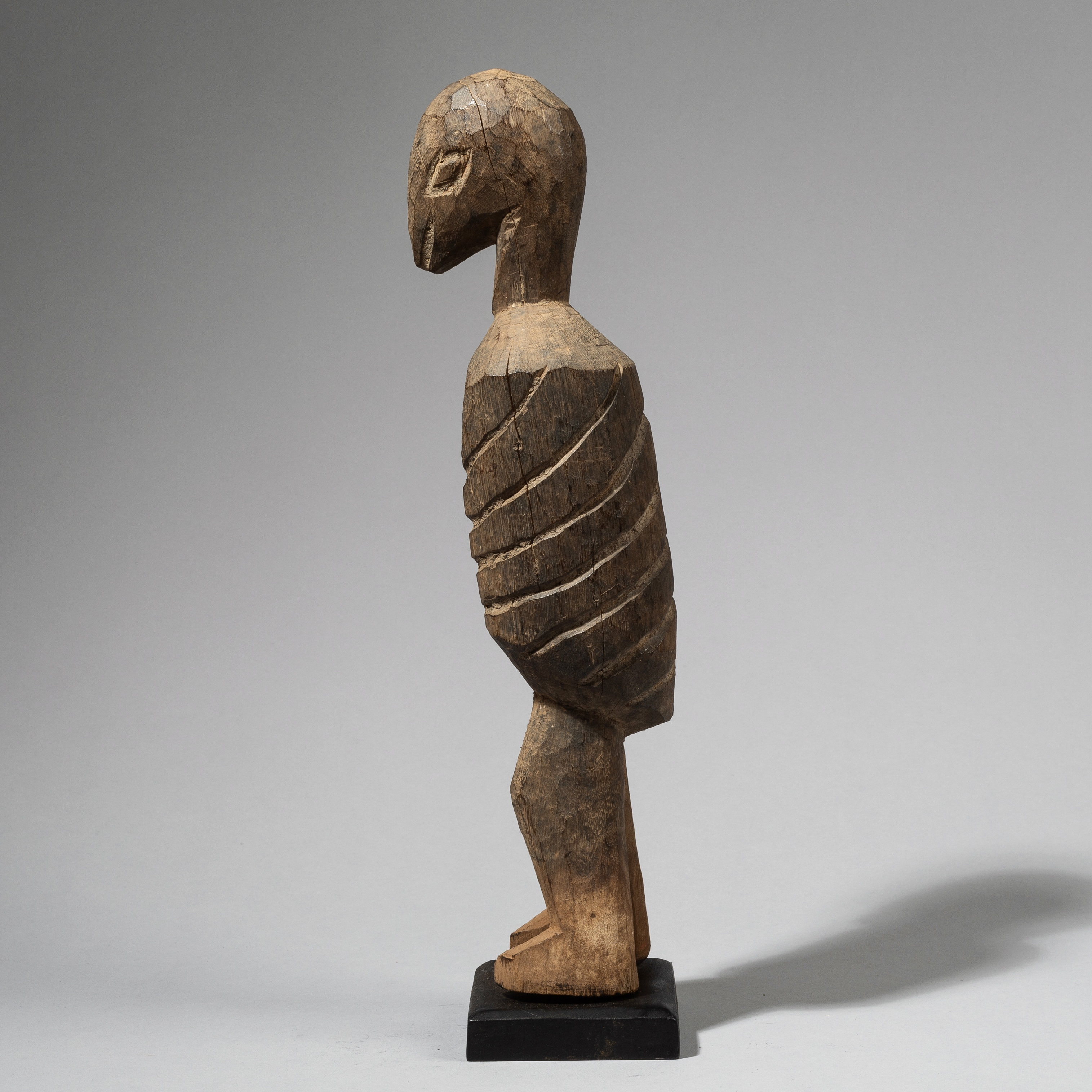 A TALL LOBI BIRD NATURE SPIRIT FROM BURKINA FASO W. AFRICA ( No 4458 )