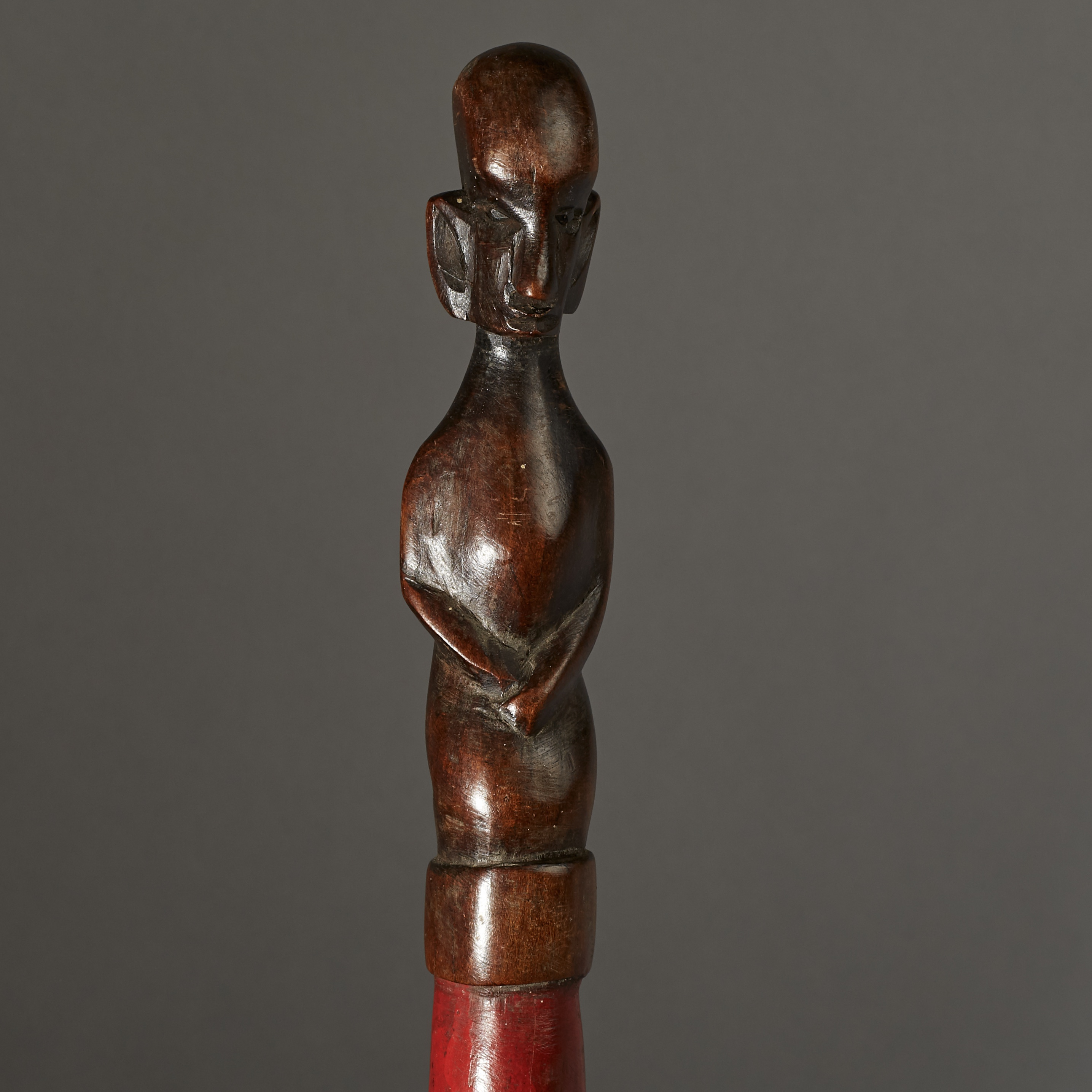 SD A PRESTIGE STAFF FROM NYAMWESI TRIBE OF TANZANIA ( No 2869 )
