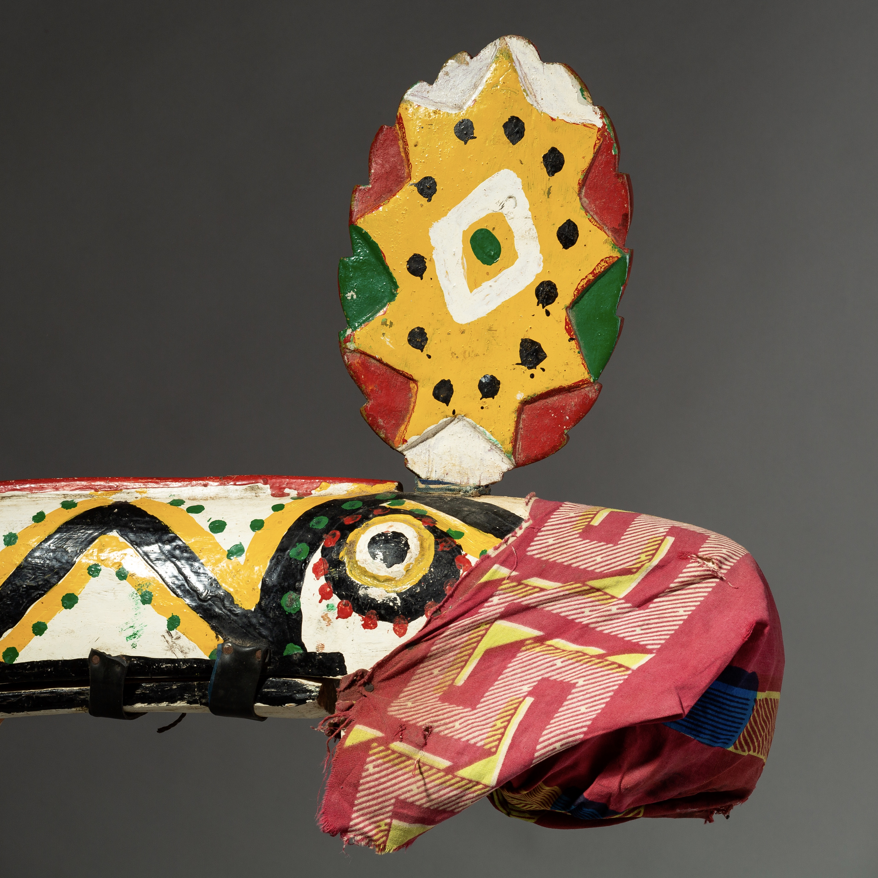 SD A STRIKING HORNBILL MARIONETTE MASK FROM BOZO TRIBE MALI ( No 2090 )
