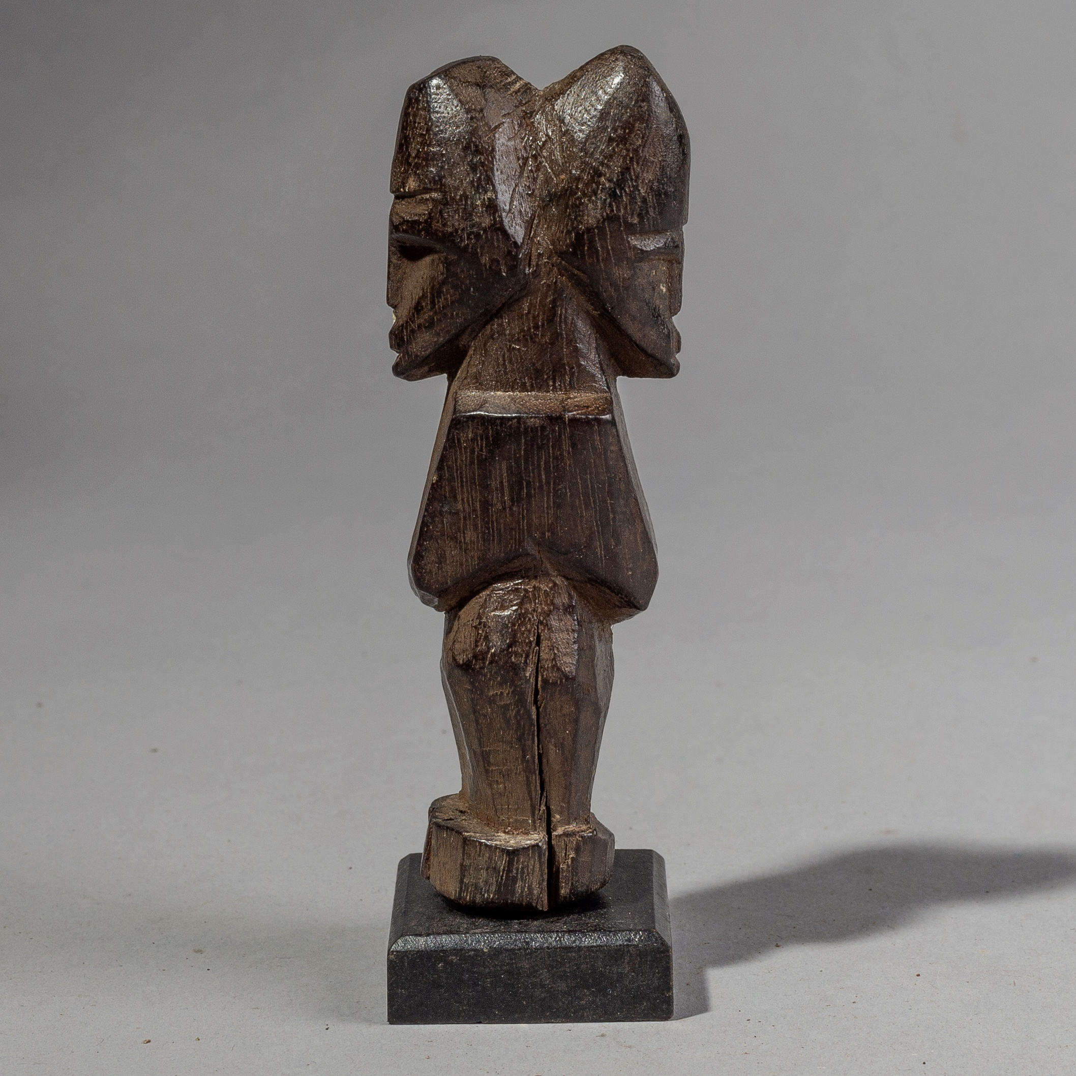 SD A FINE TINY JANUS CHARM FROM LOBI PEOPLE OF BURKINA FASO ( No 1909 )