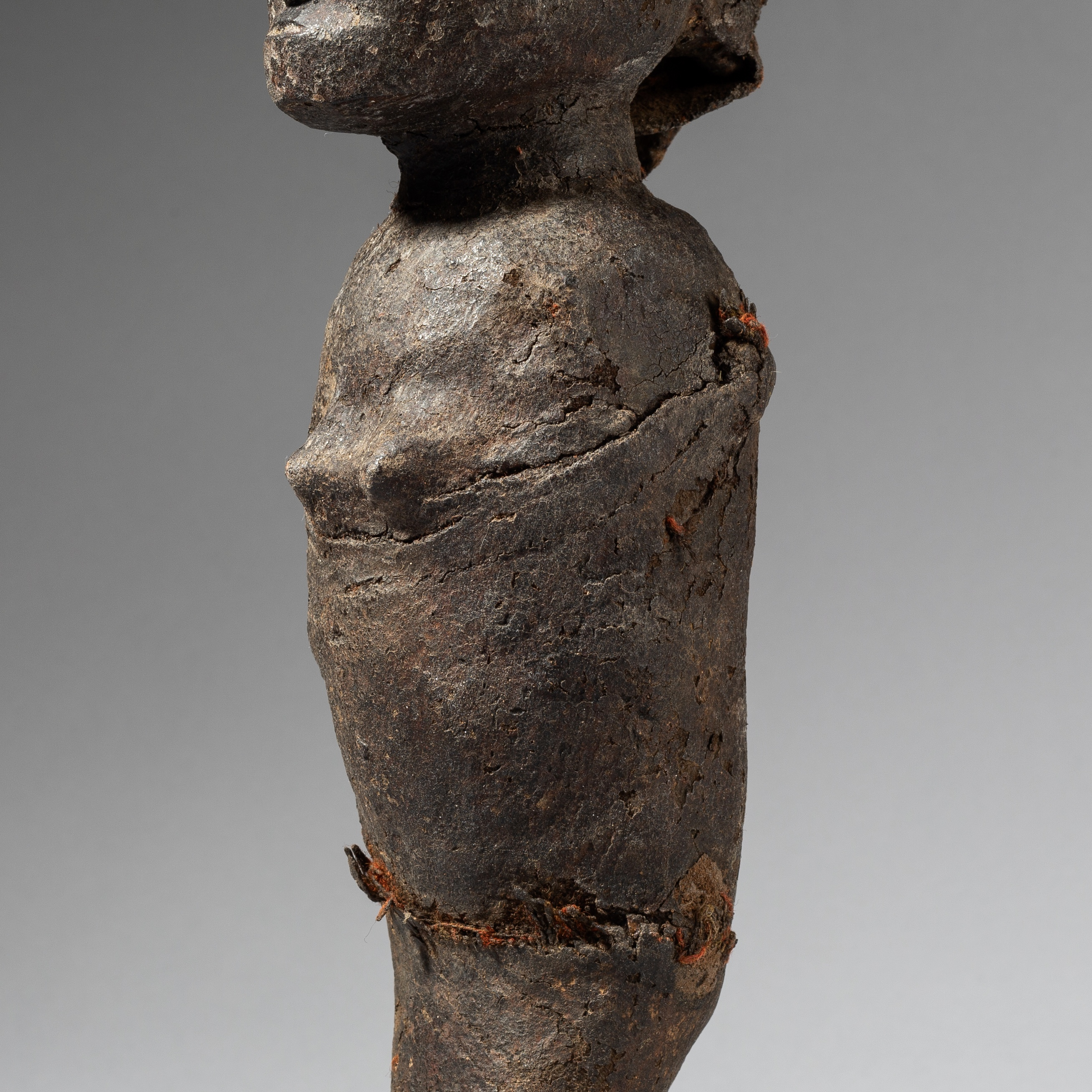 A BOUND AND ENCRUSTED NYAMWEZI TRIBE STATUE FROM TANZANIA (No 3622)