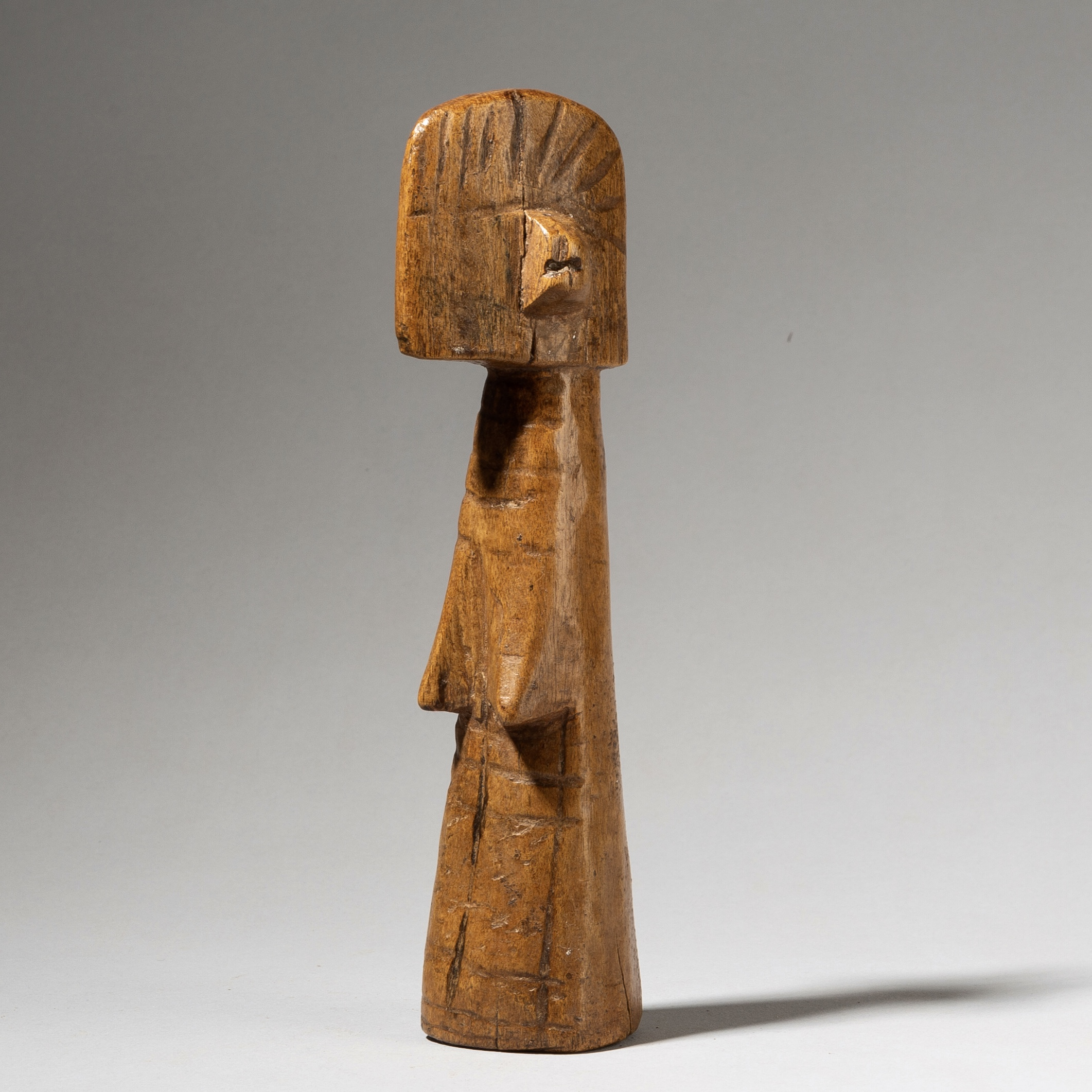 A CUBIST MOSSI DOLL FROM BURKINA FASO ( No 4017)