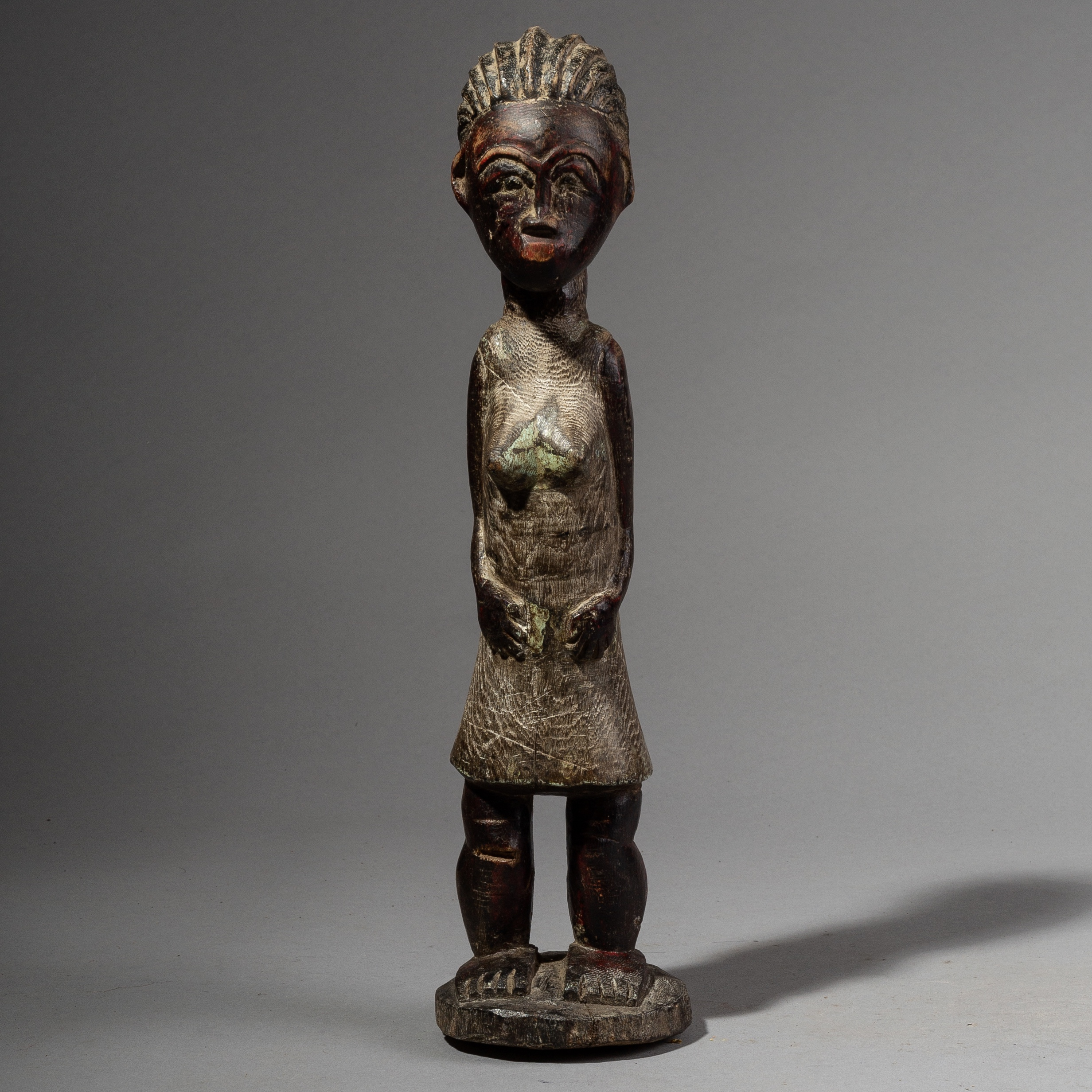 A REPOSED BAULE SPIRIT PARTNER FROM THE IVORY COAST ( No 2272 )