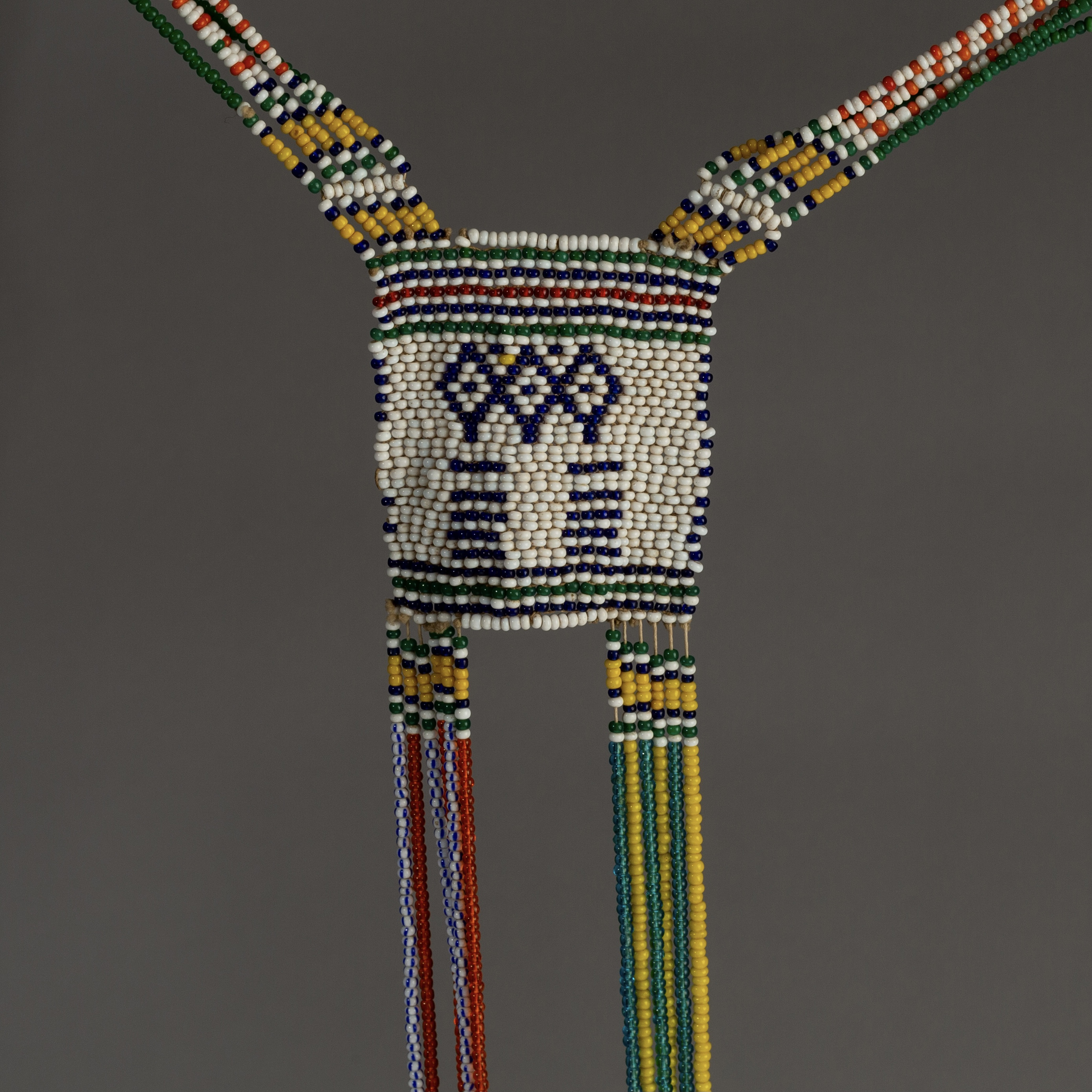 A MASSIVE XHOSA BANDOLIER NECKLACE FROM SOUTH AFRICA ( No 3236 )