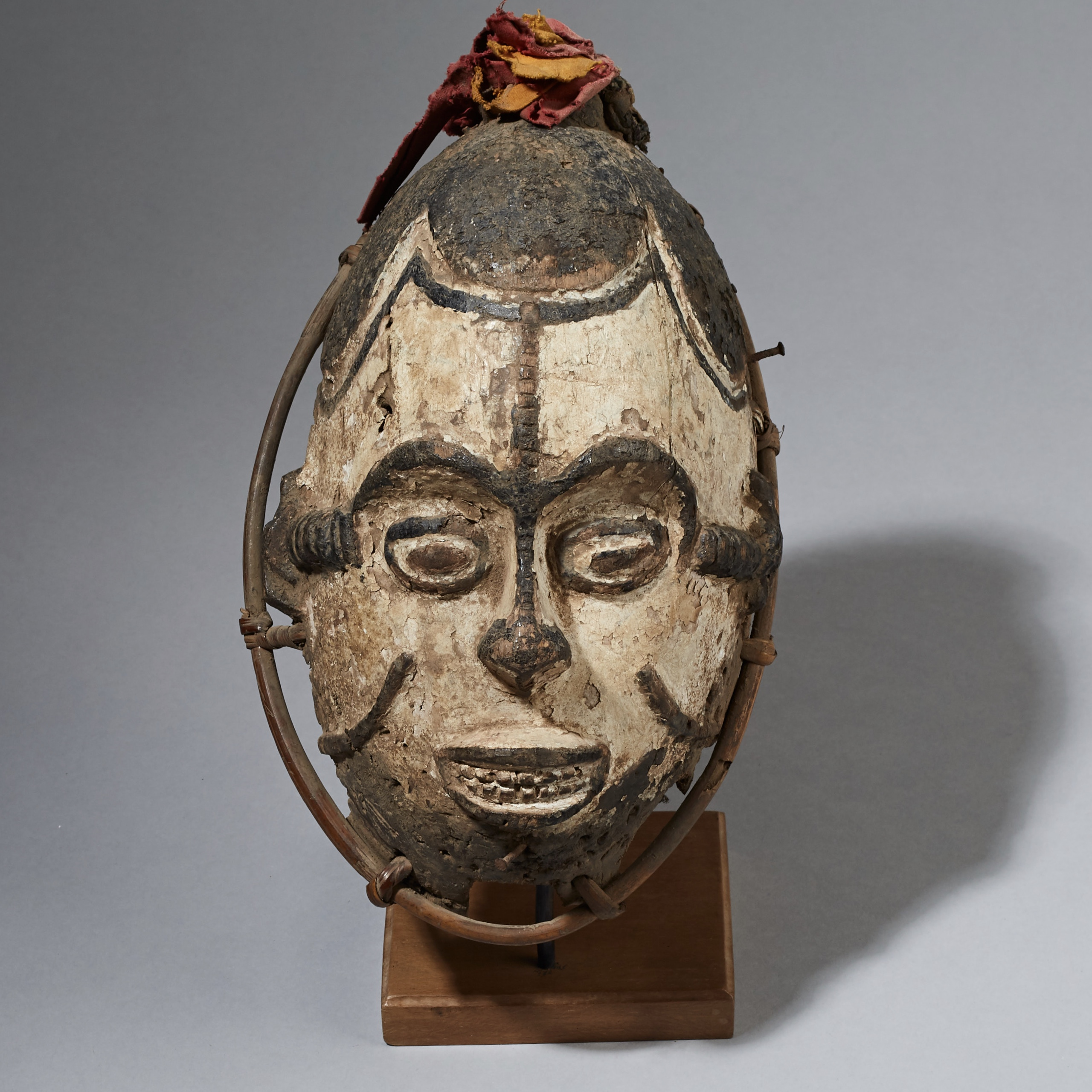 AN OLD IGBO MASK FROM NIGERIA ( No 2382 )