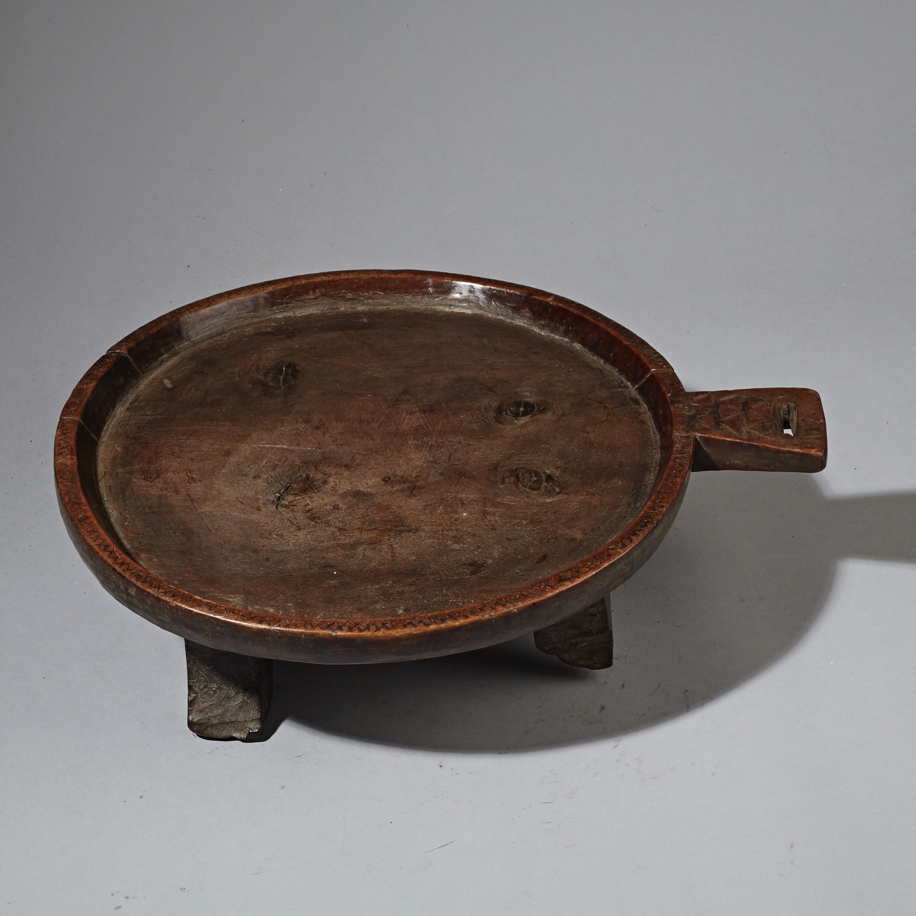 A FINE + WELL PATINATED ETHIOPIAN COFFEE SERVER ( No 2337 )