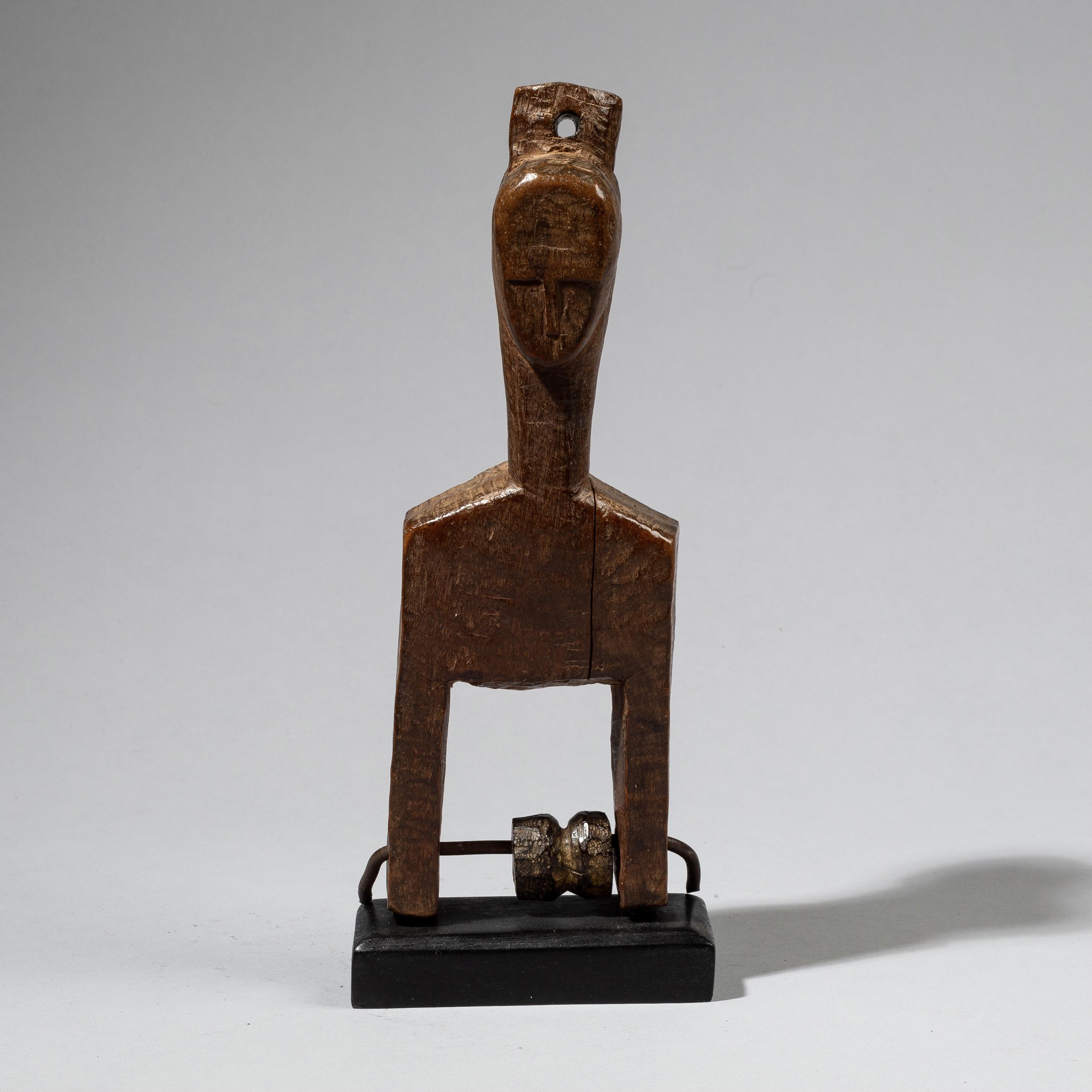 A JANUS BAULE HEDDLE PULLEY, IVORY COAST W.AFRICA( No 4492)