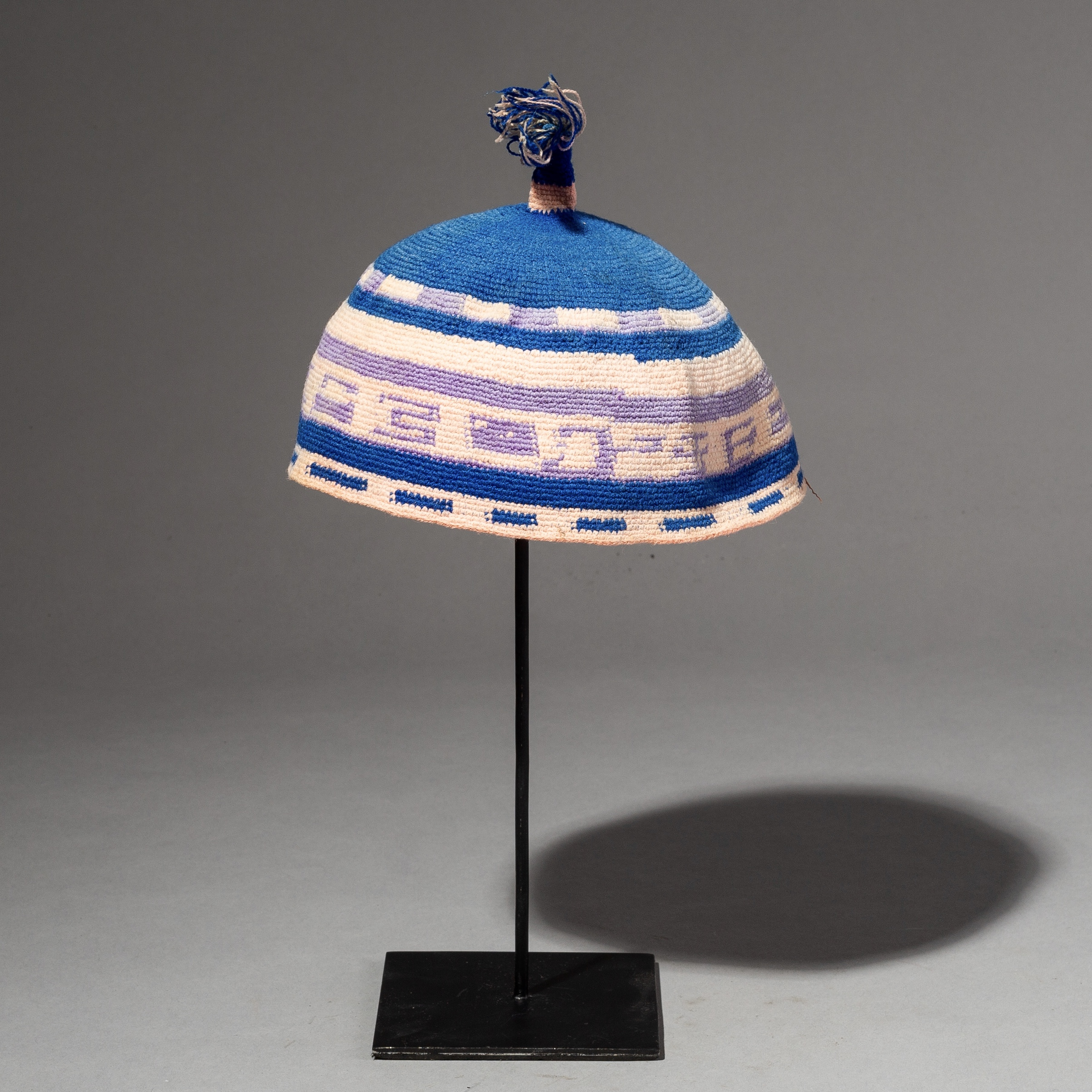 RESERVED AY -A CUTE DORSE HAND MADE HAT FROM ETHIOPIA ( No 2714 )