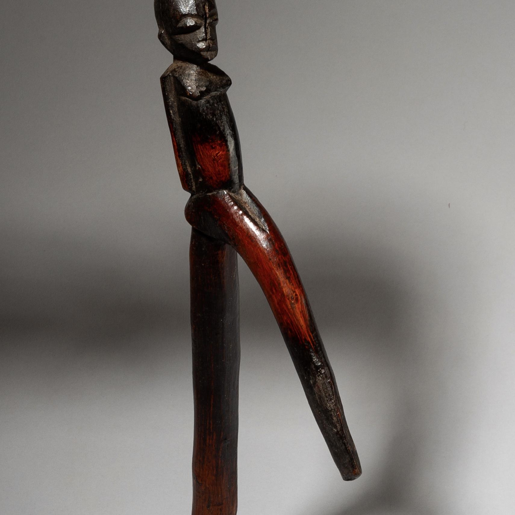 A SUPERB ELDERS CROOK, LOBI TRIBE IVORY COAST W AFRICA ( No 4034 )