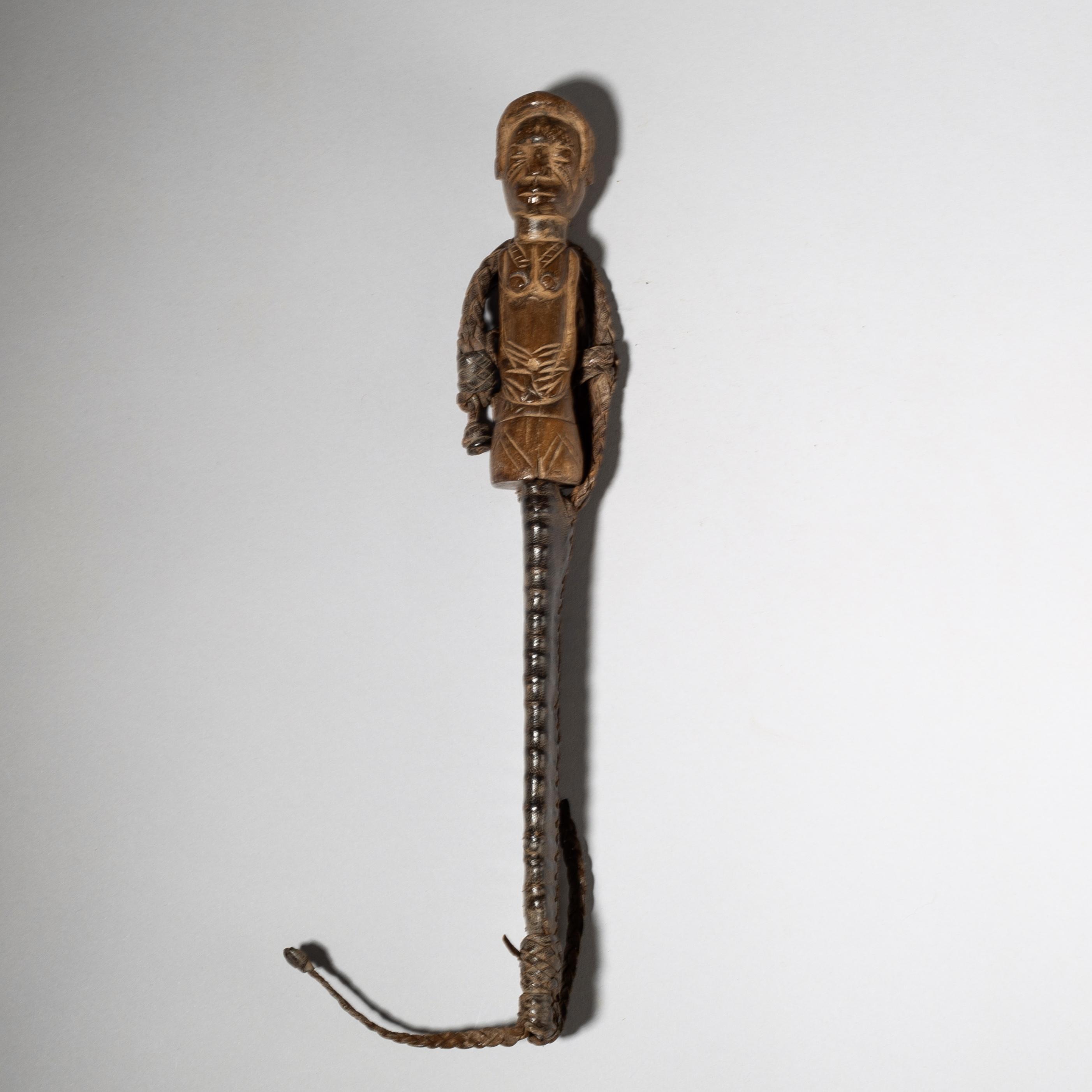 A FINE FIGURATIVE KNIFE, MOSSI TRIBE BURKINA FASO W AFRICA( No 4036)